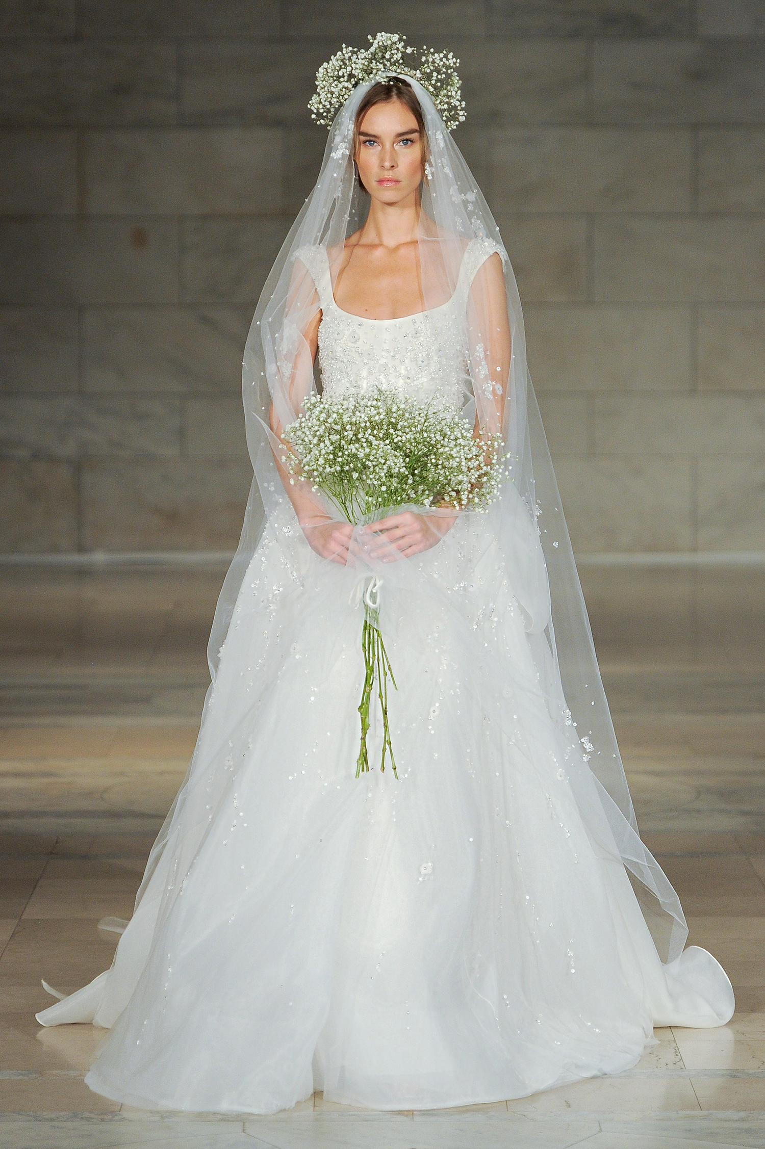 reem acra bridal market wedding dress fall 2018 a-line