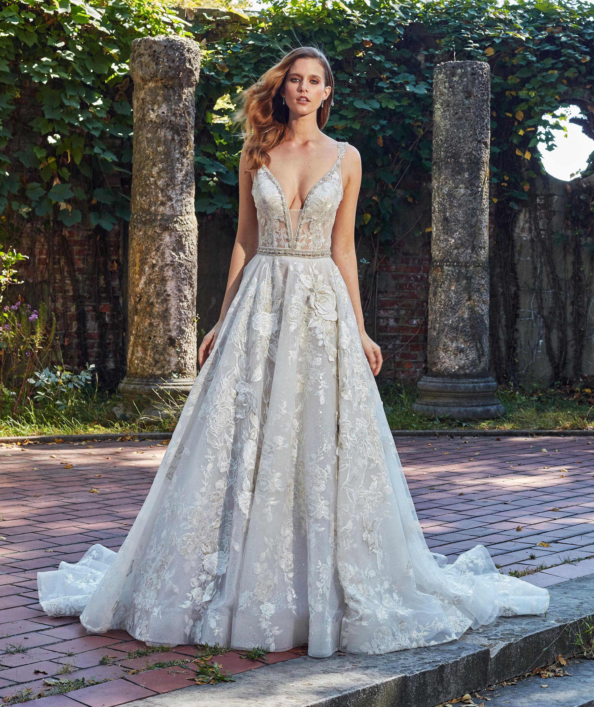 eve of milady dress fall 2018 v-neck strapless embellished
