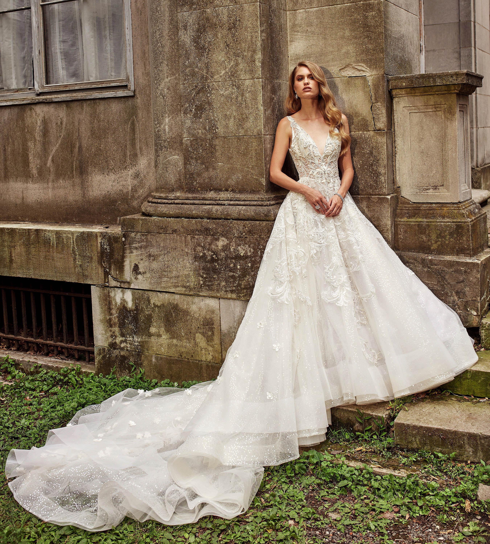 eve of milady dress fall 2018 v-neck embellished a-line