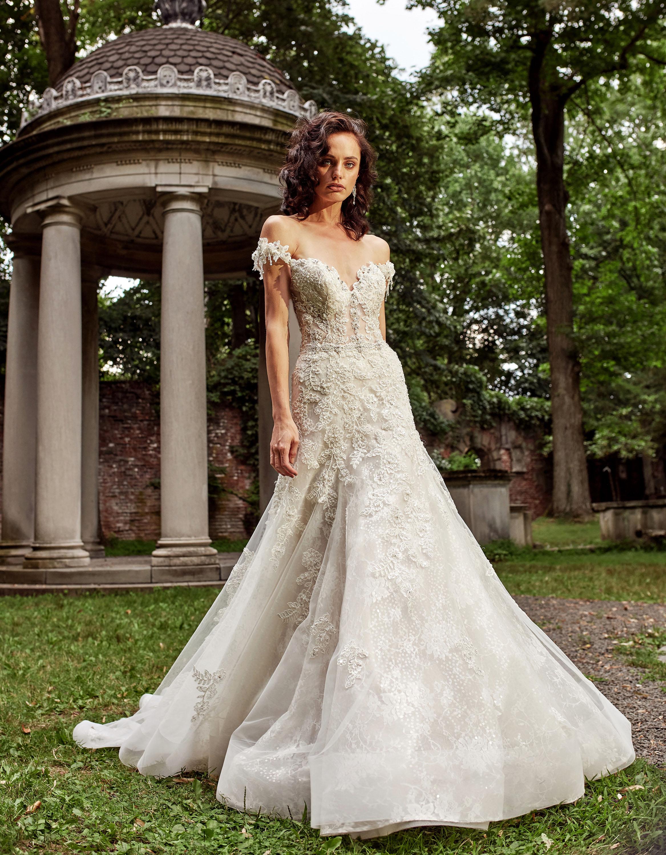 eve of milady dress fall 2018 off the shoulder sweetheart a-line embellished