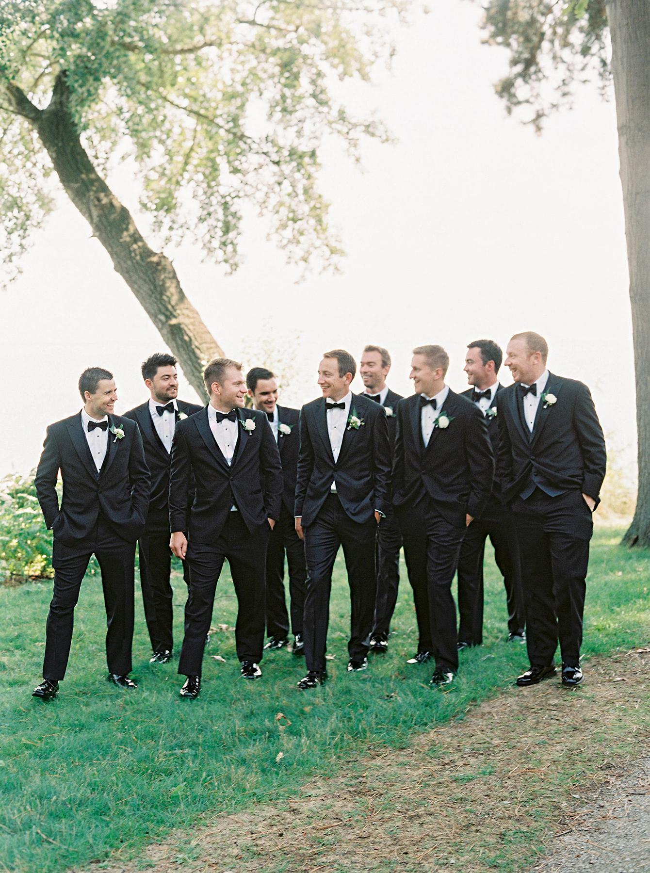 stephanie matt groom and groomsmen