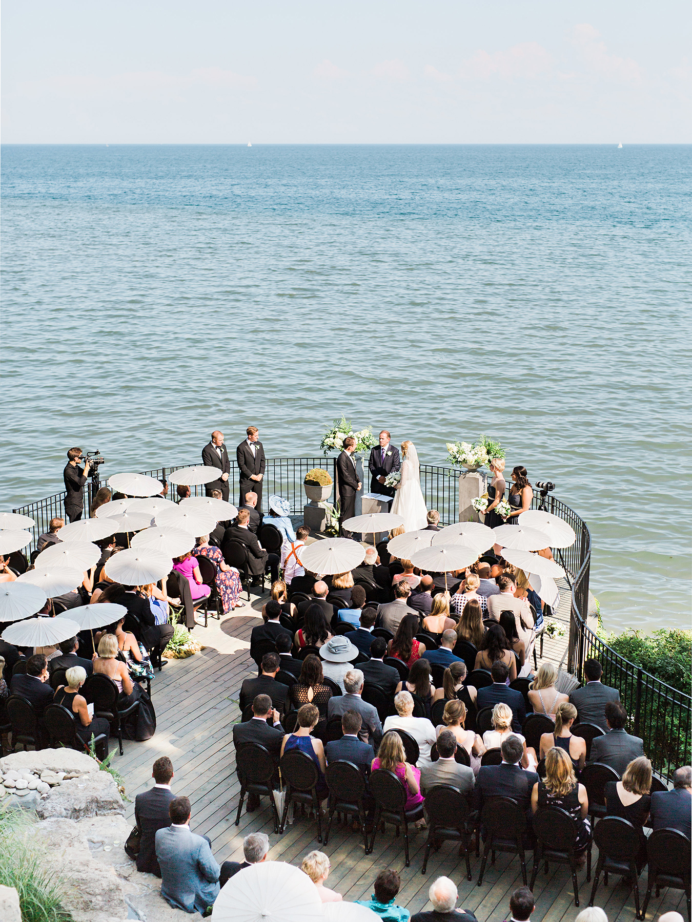 stephanie matt outdoor wedding ceremony