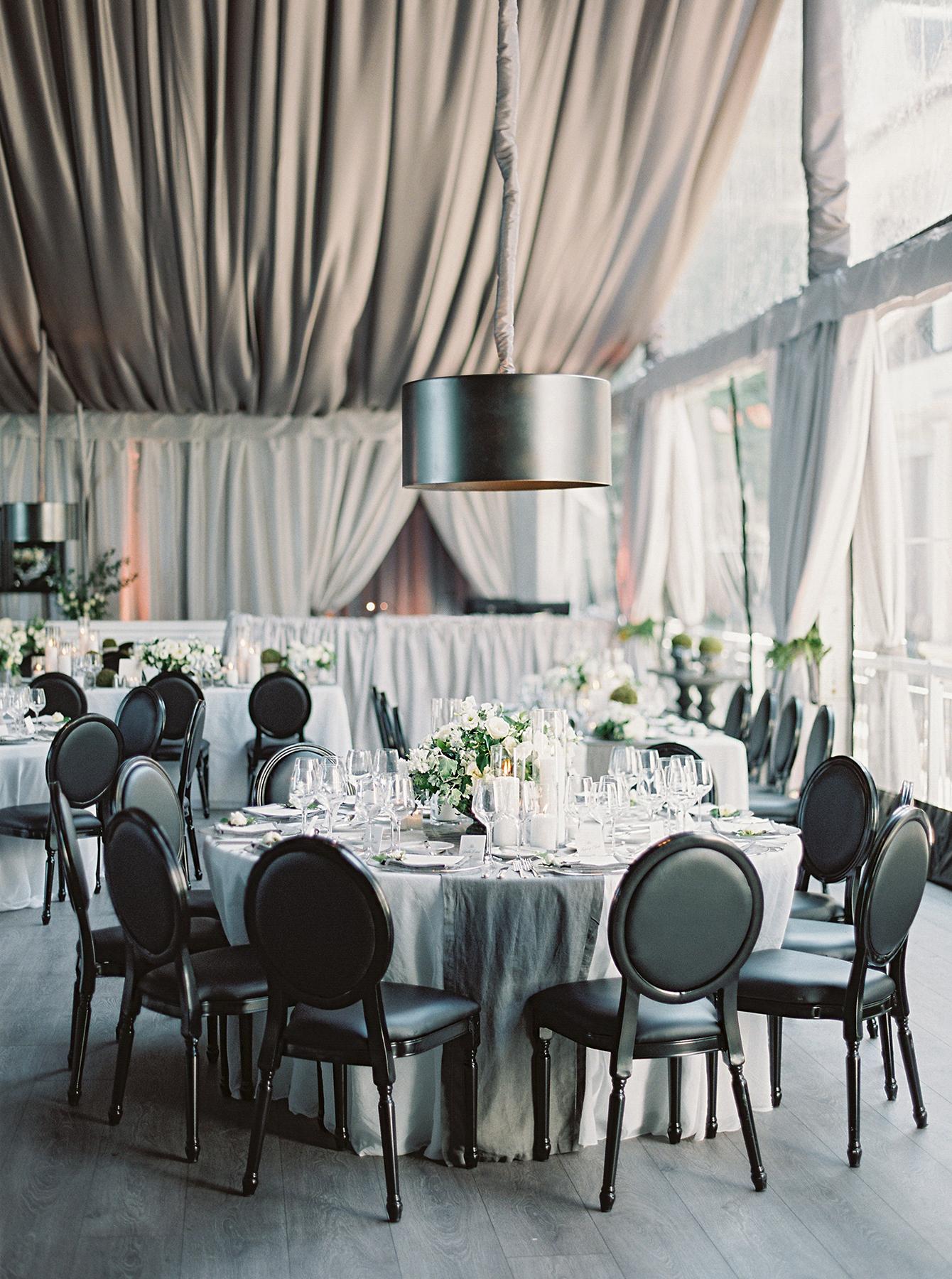 stephanie matt wedding reception decor