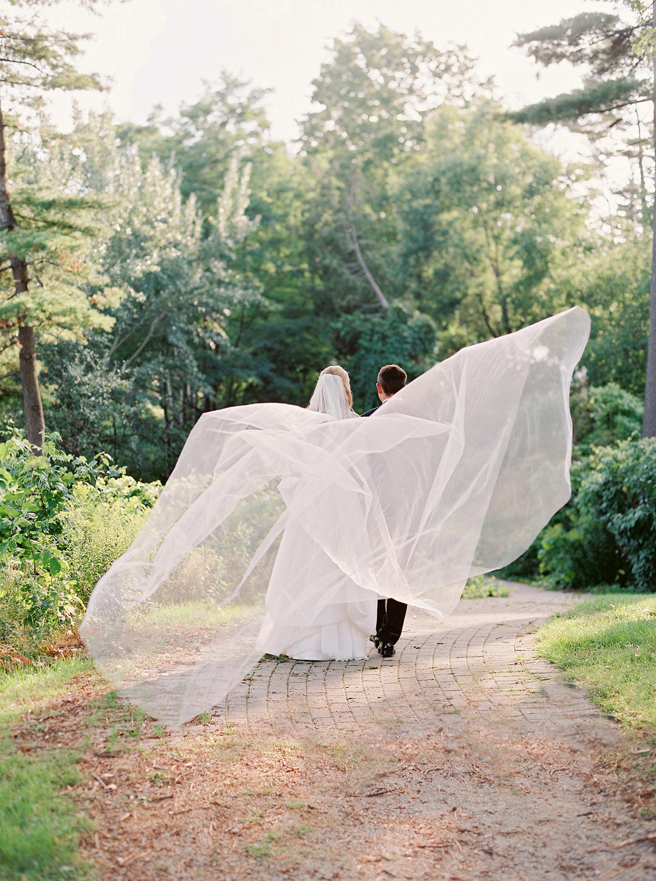 stephanie matt couple and veil