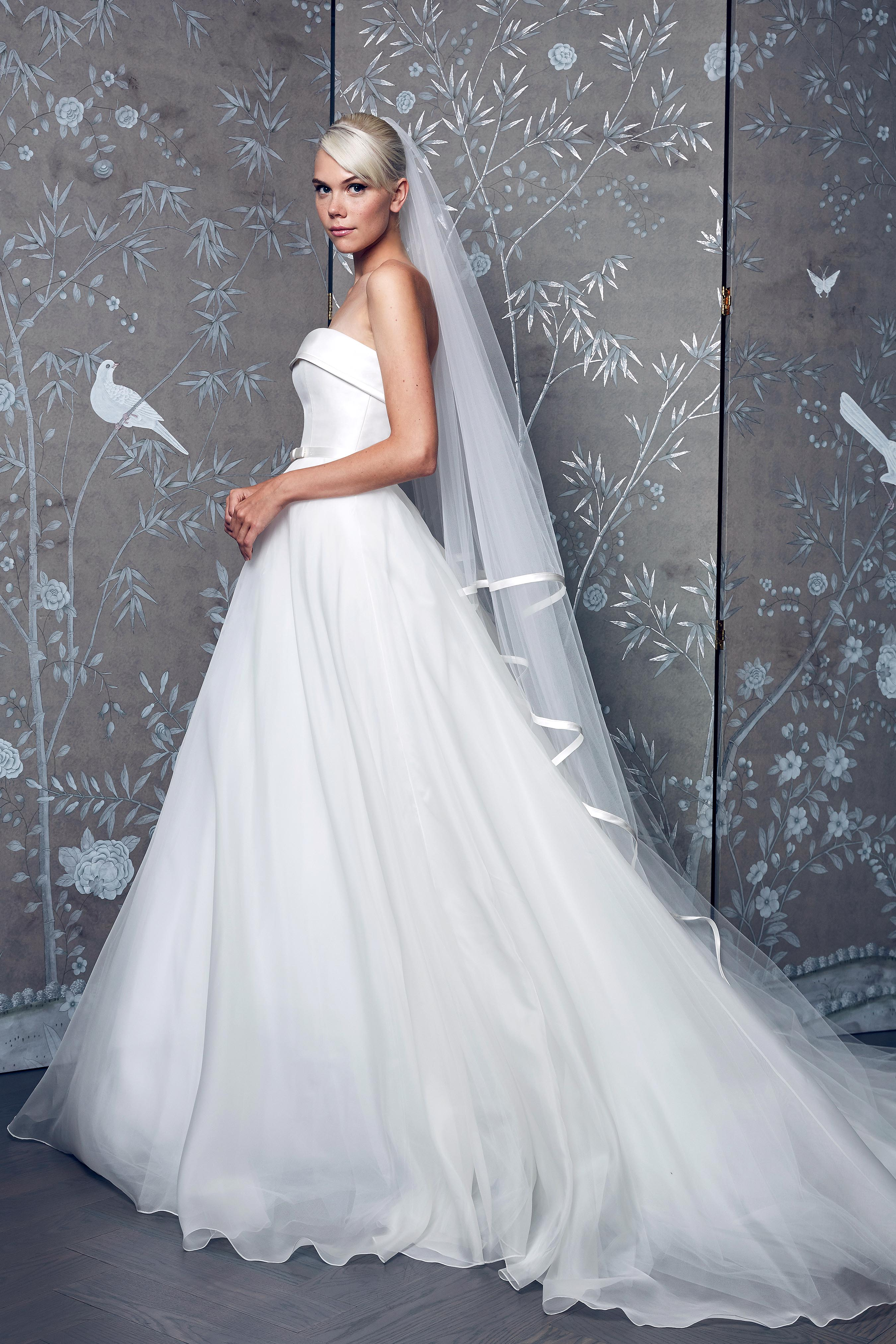 Legends Romona Keveza Halter with Veil Wedding Dress Fall 2018