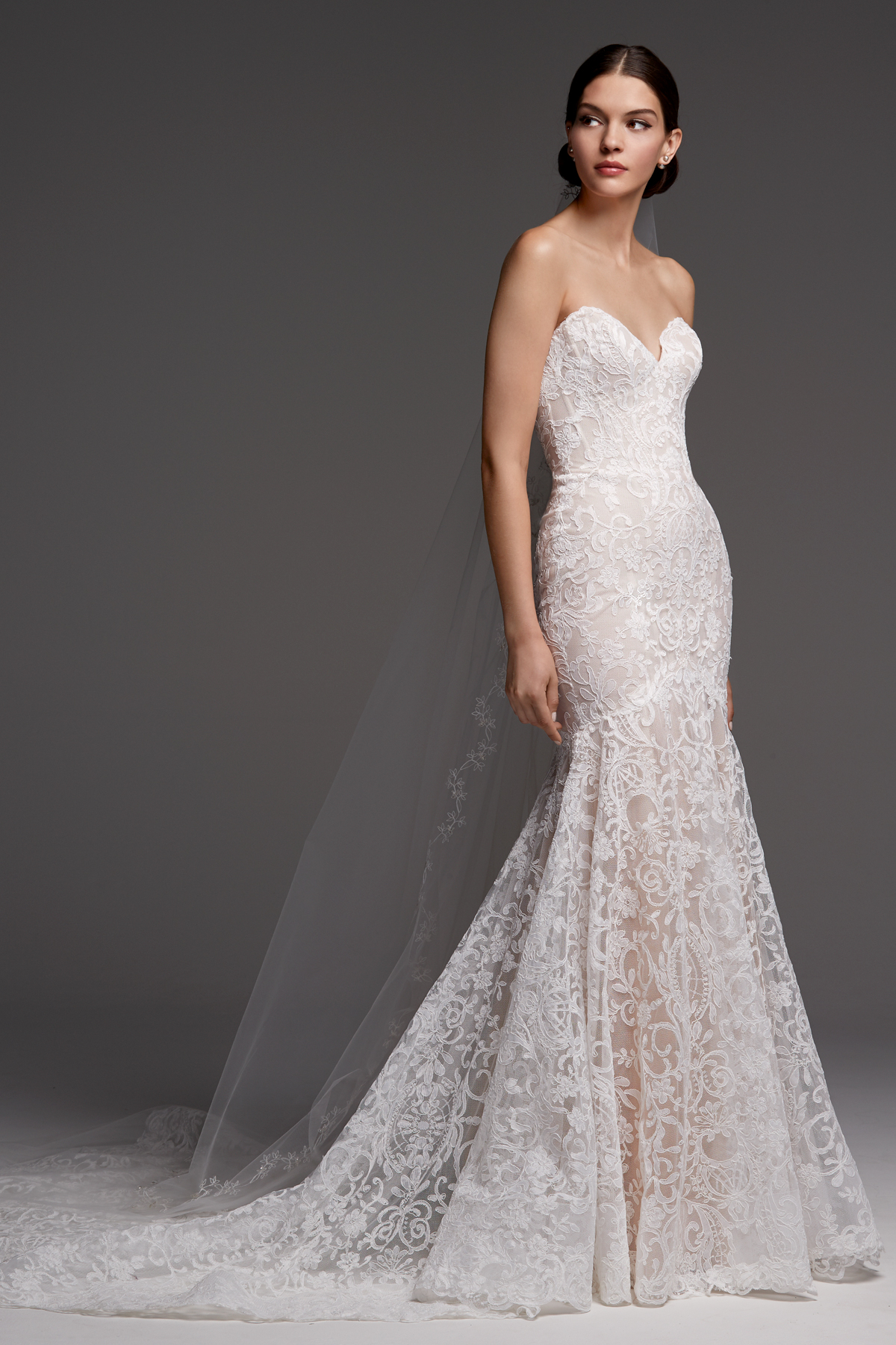 watters wedding dress fall 2018 sweetheart mermaid