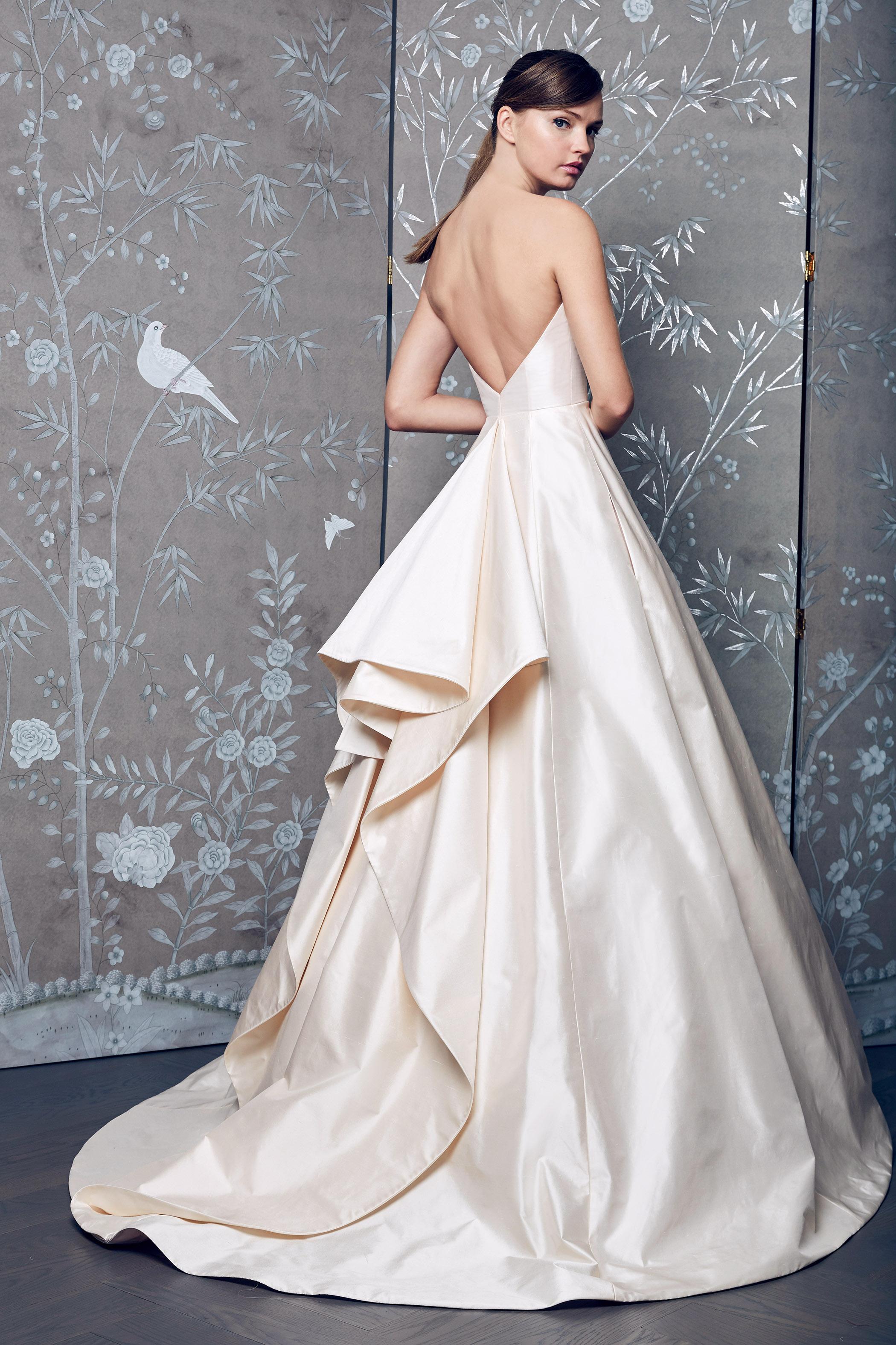 Legends Romona Keveza Backless A-Line Wedding Dress Fall 2018
