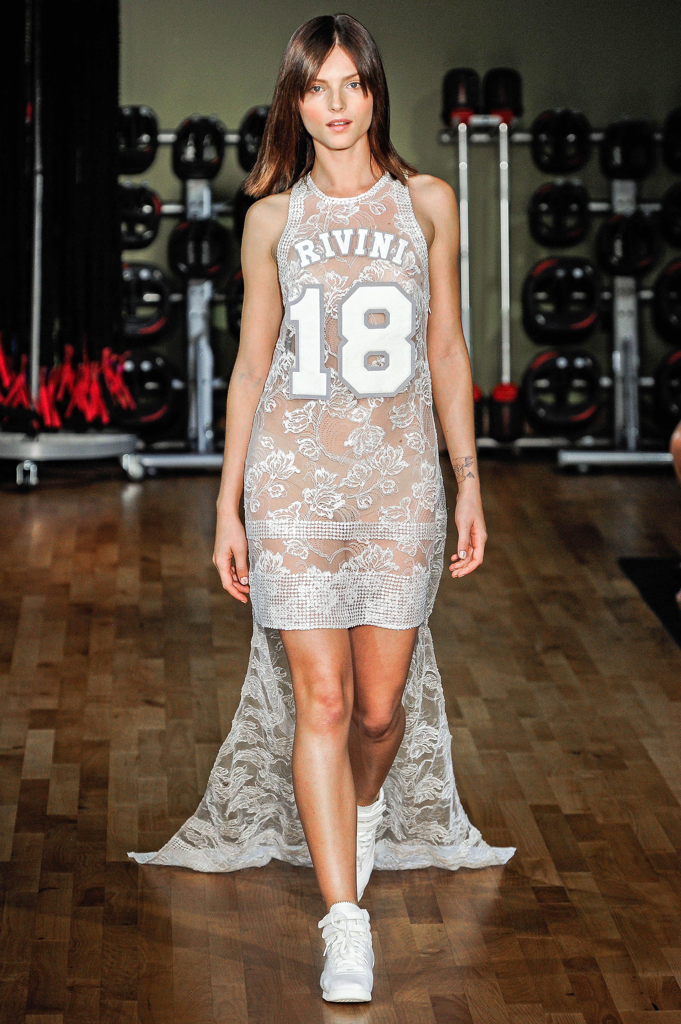 Rivini by Rita Vinieris Short Wedding Dress Fall 2018
