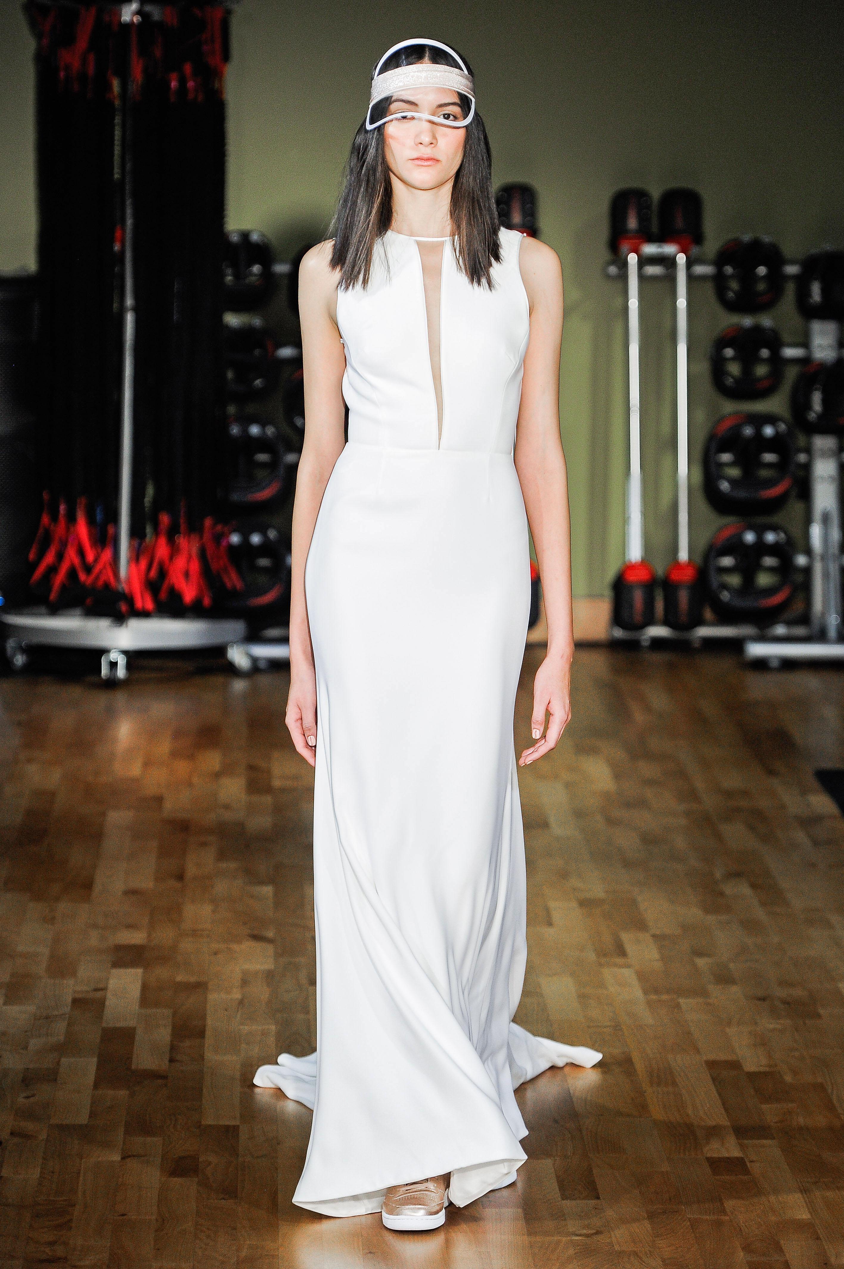 Rivini by Rita Vinieris Sheath Wedding Dress Fall 2018