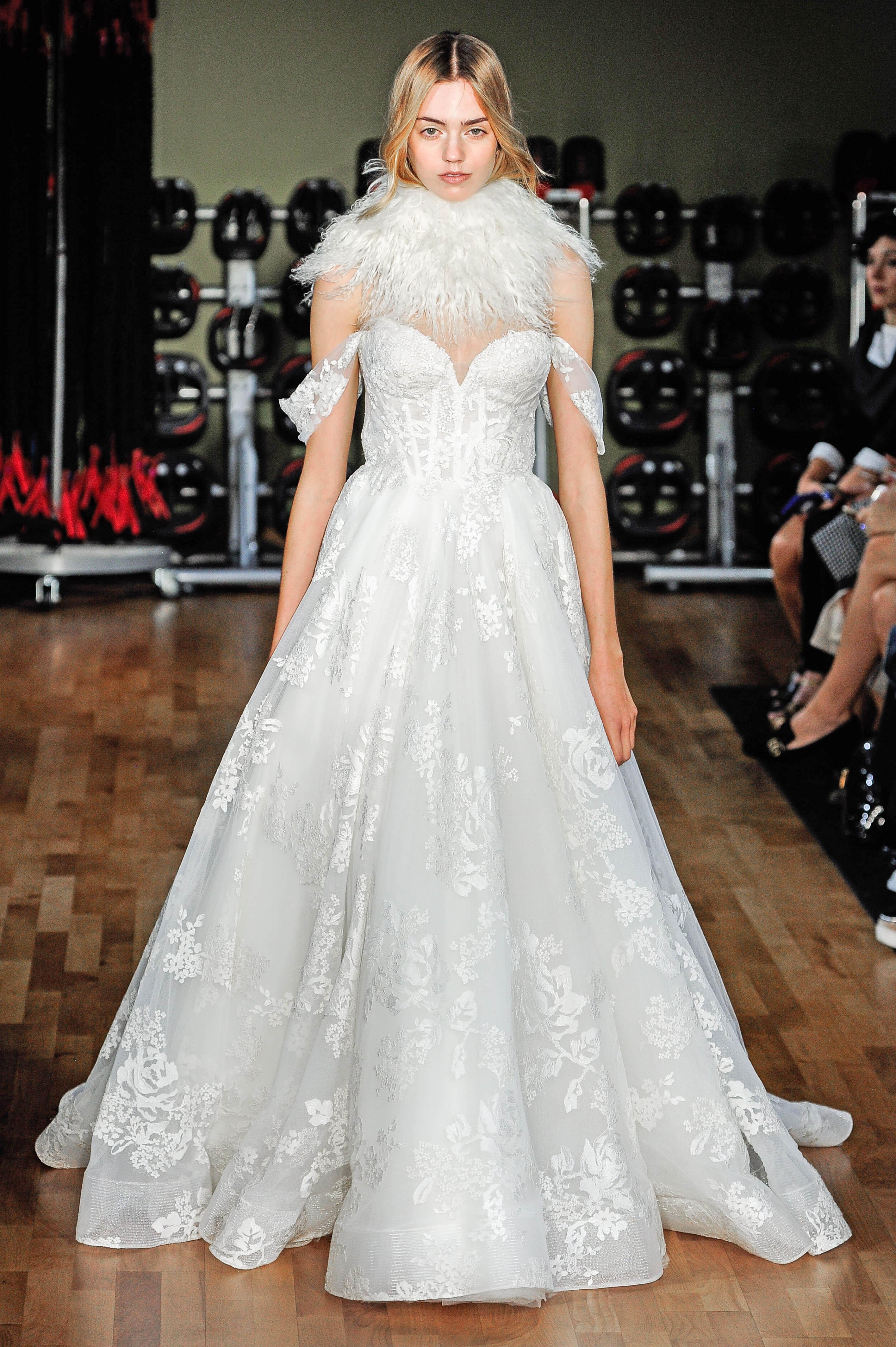rivini by rita vinieris sweetheart neckline off the shoulder a-line wedding dress fall 2018
