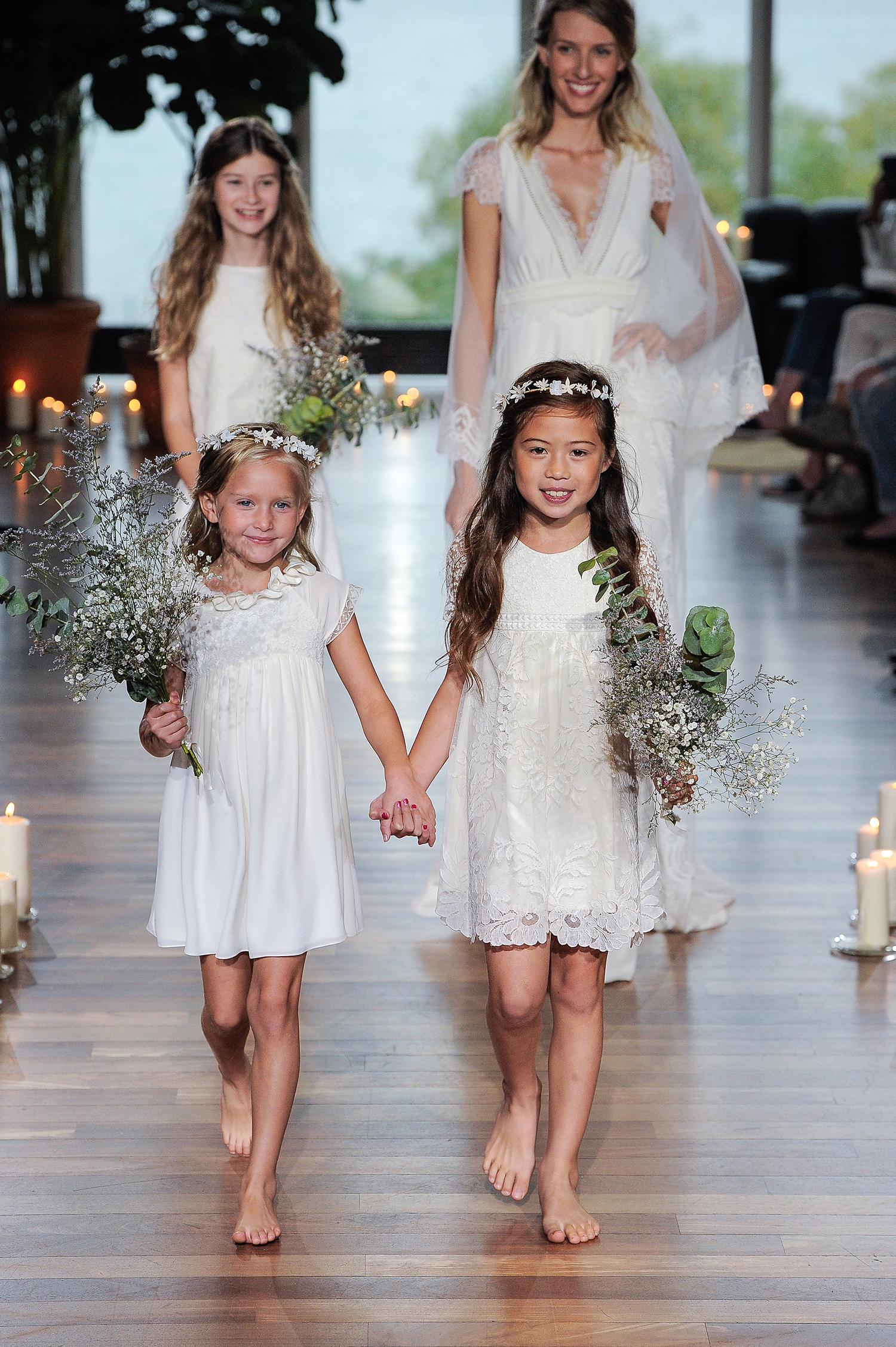 laure de sagazon fall 2018 short flower girl dresses