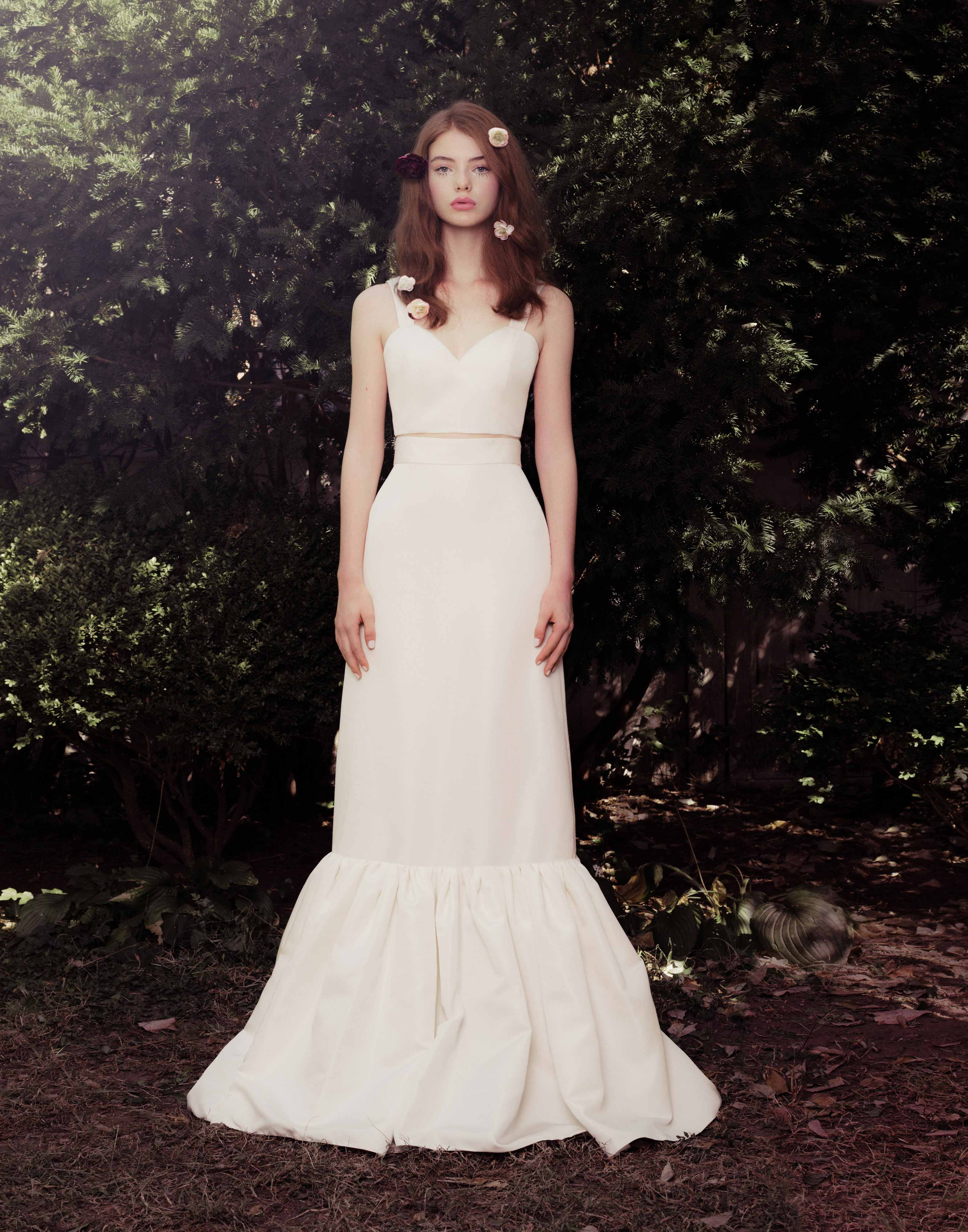 honor fall 2018 sweetheart mermaid wedding dress