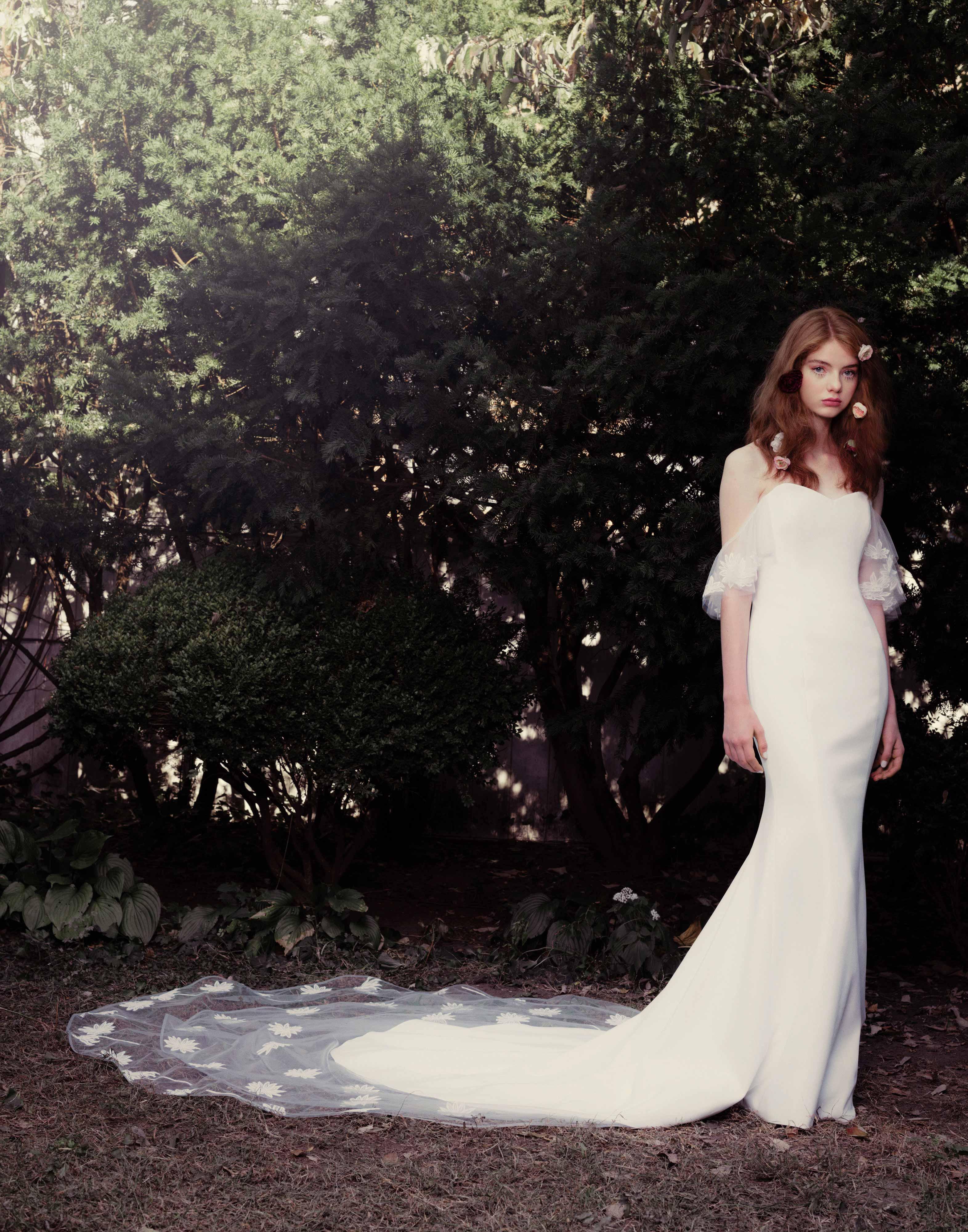 honor fall 2018 sweetheart flutter sleeve dress