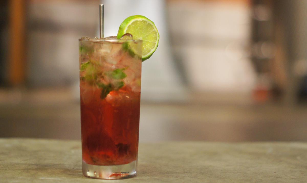 floral cocktail