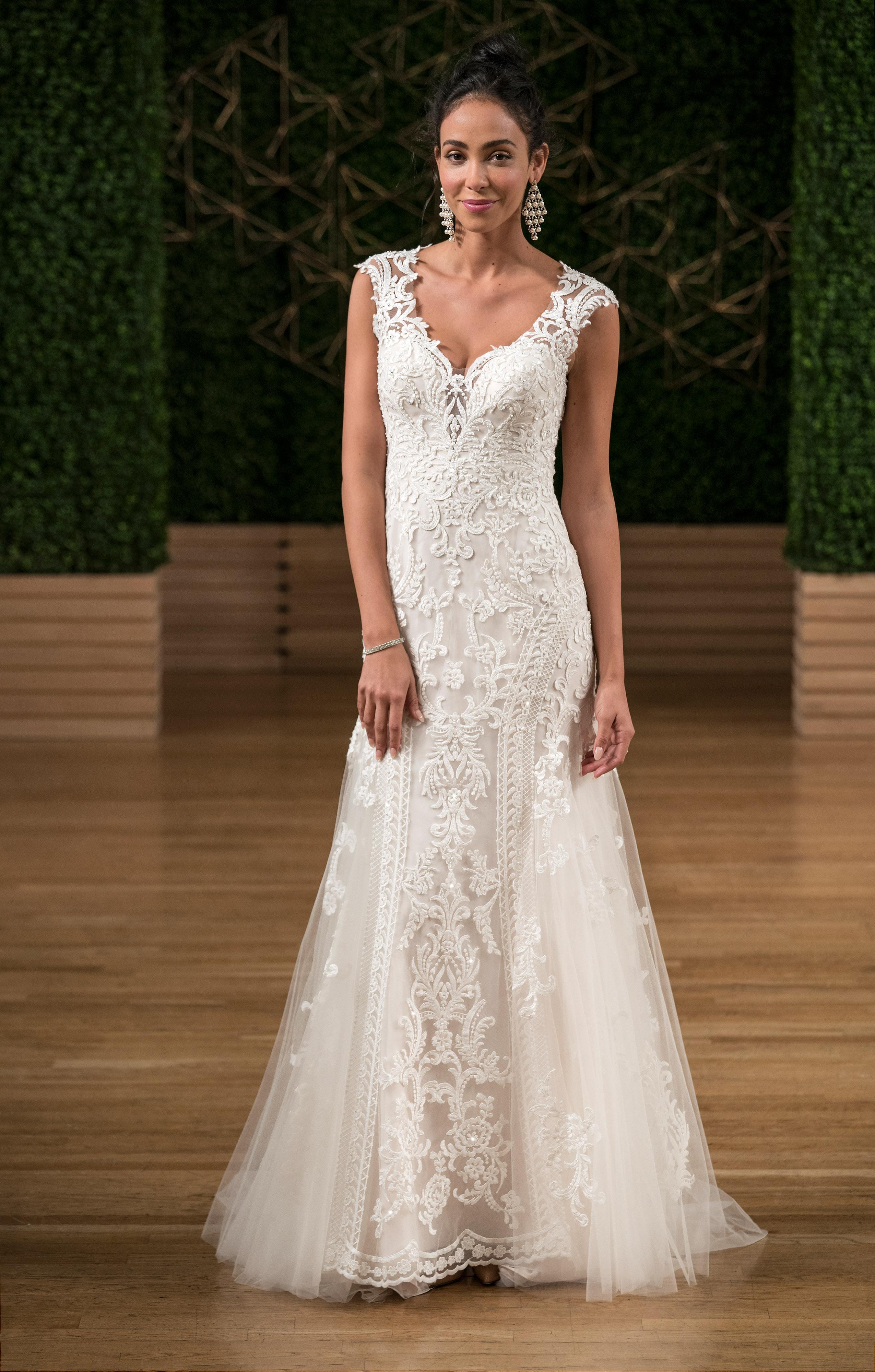 sottero midgley wedding dress fall 2018 v neck sleeveless embellished