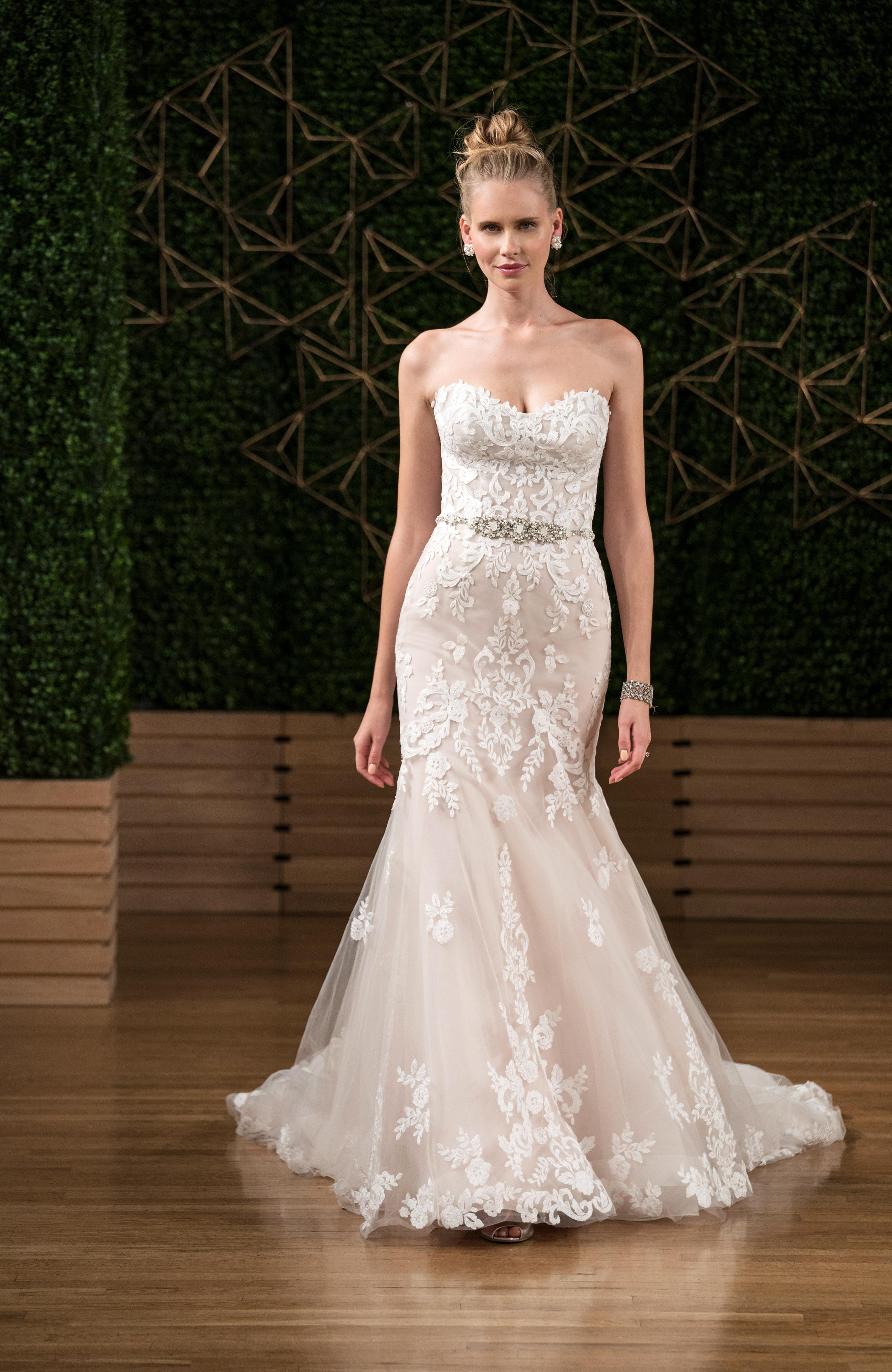 sottero midgley wedding dress fall 2018 sweetheart lace trumpet