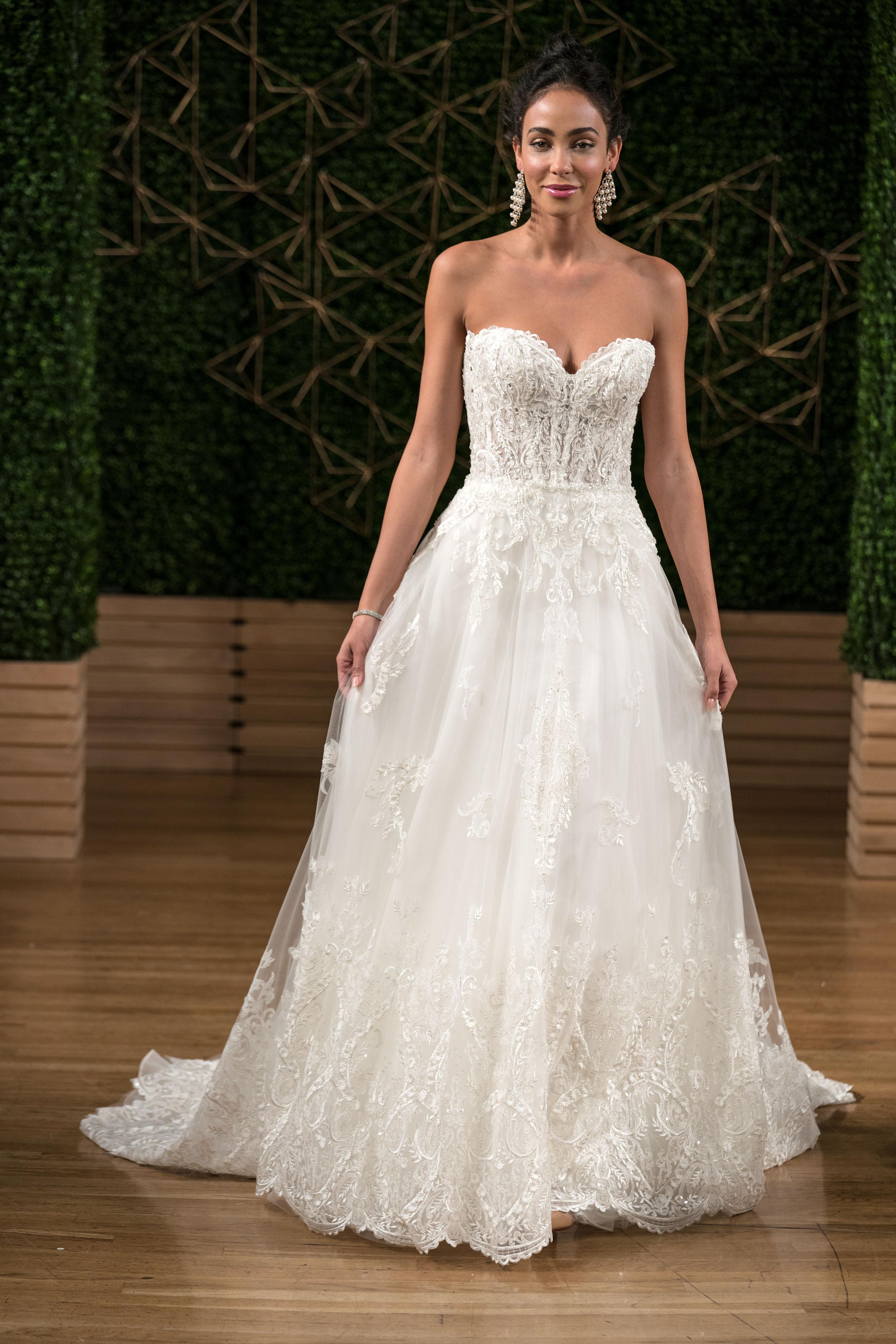 sottero midgley wedding dress fall 2018 sweetheart lace a-line
