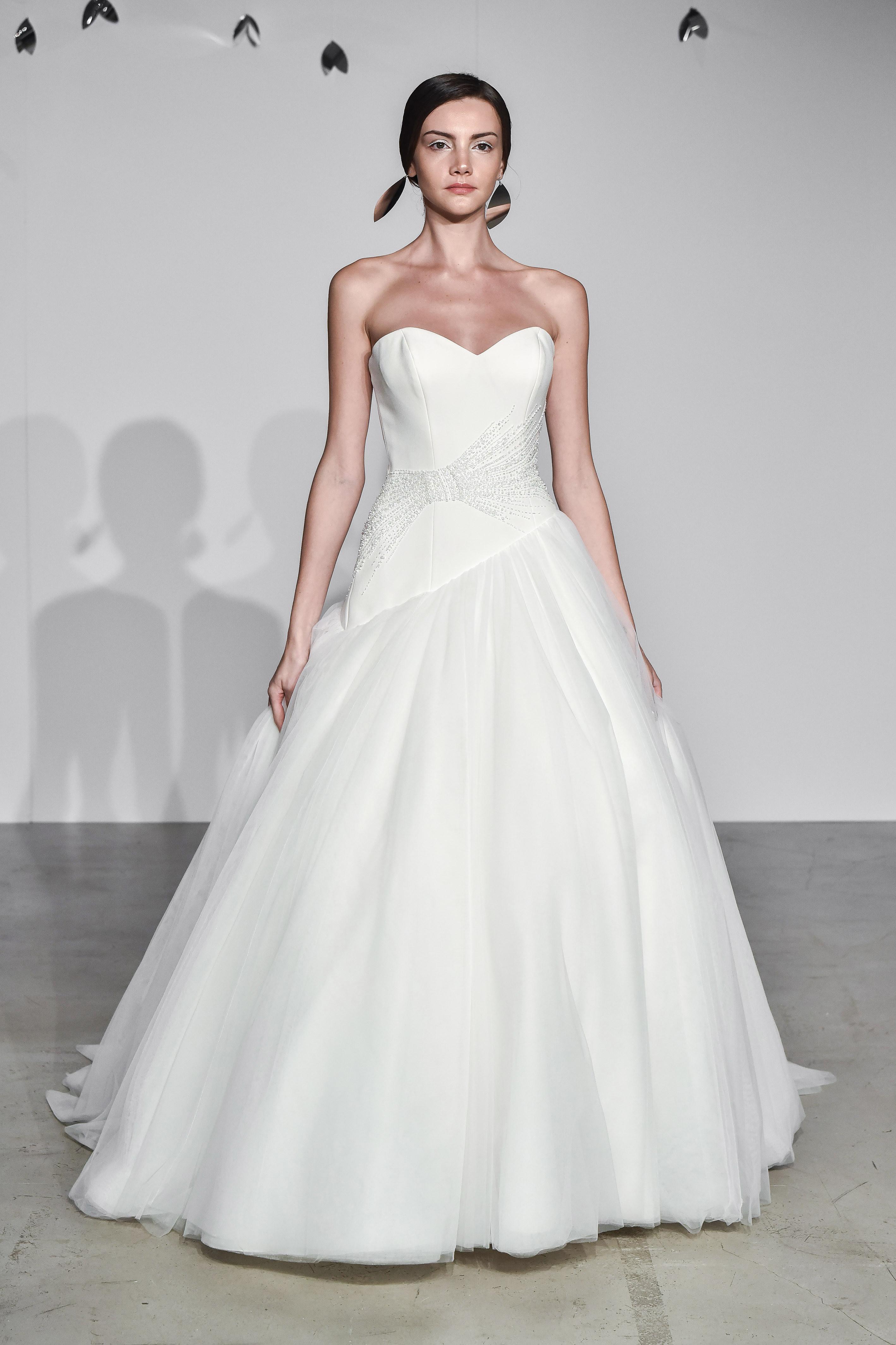 justin alexander fall 2018 sweetheart a-line wedding dress