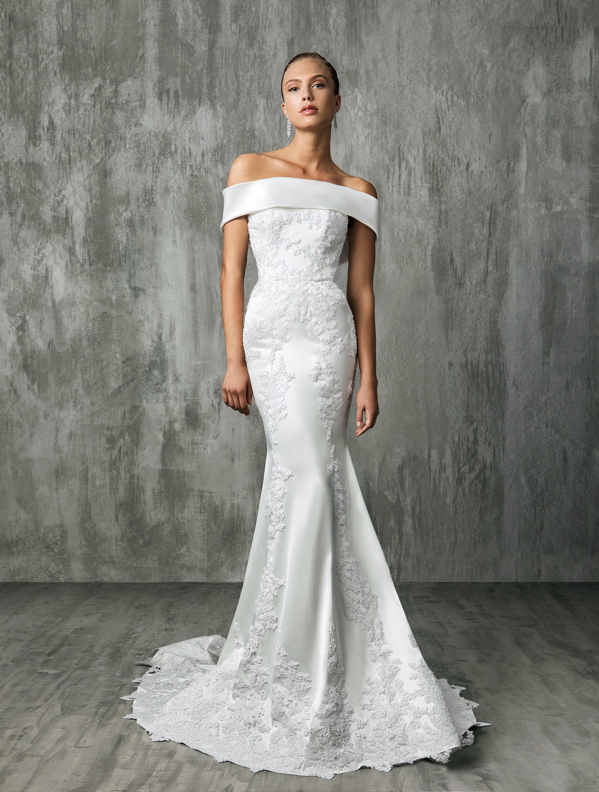 Victoria Kyriakides Halter Wedding Dress Fall 2018