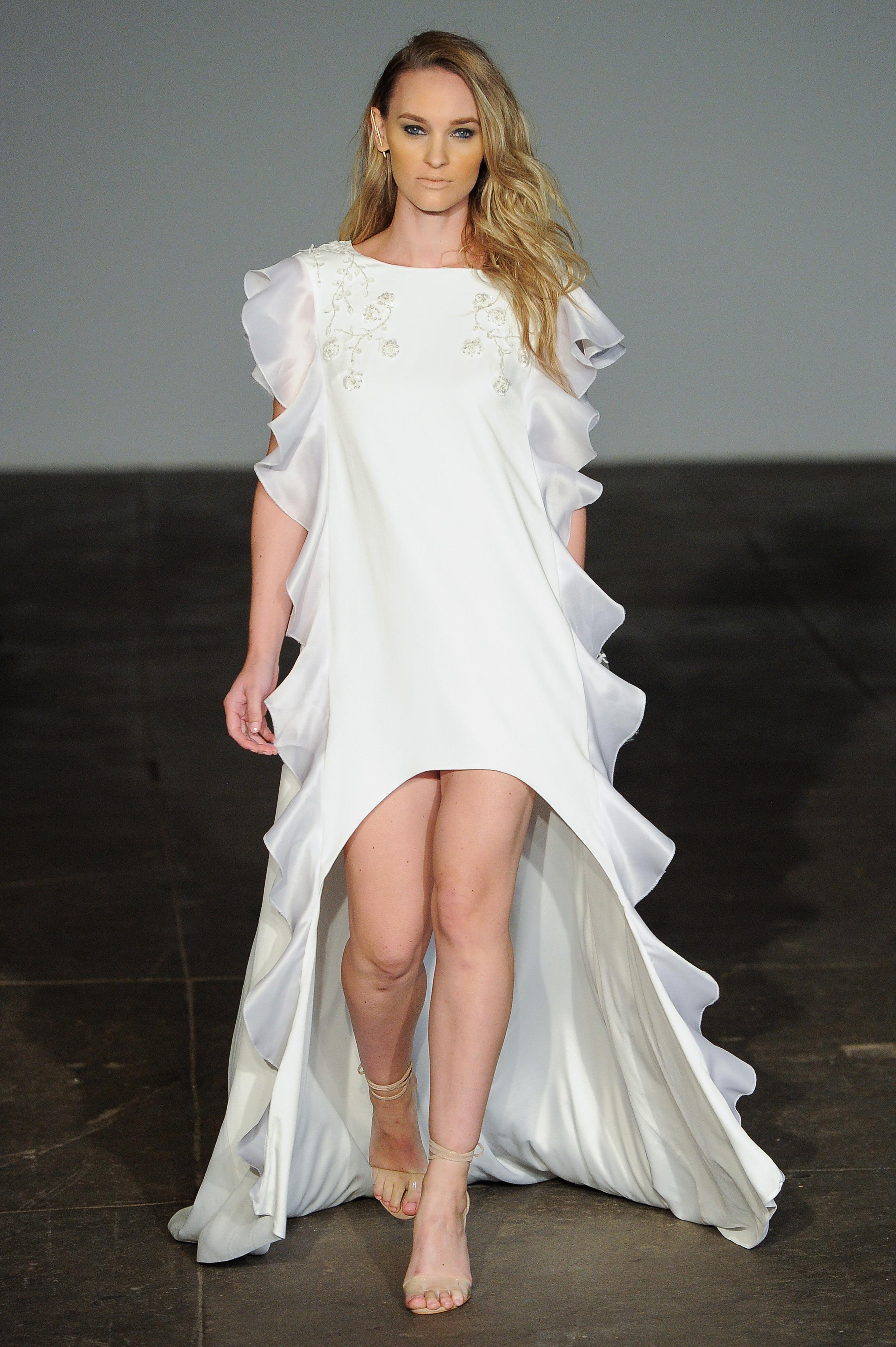 rime arodaky fall 2018 sheath wedding dress