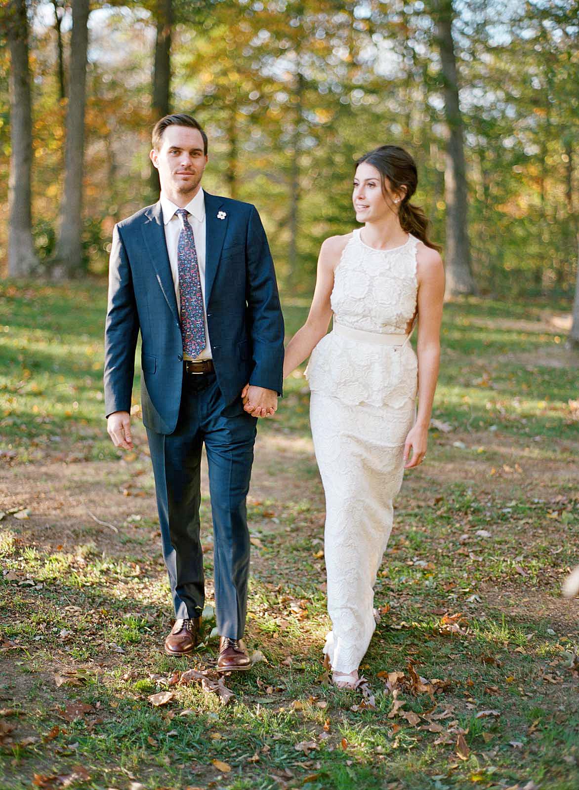 meg nick wedding couple