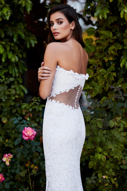 tadashi shoji wedding dress fall 2018 sleeveless lace