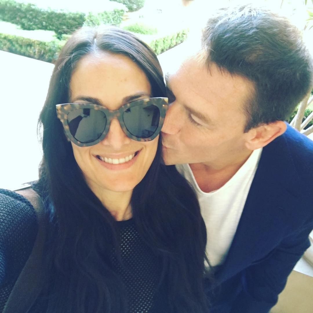 Nikki Bella and John Cena Kissing