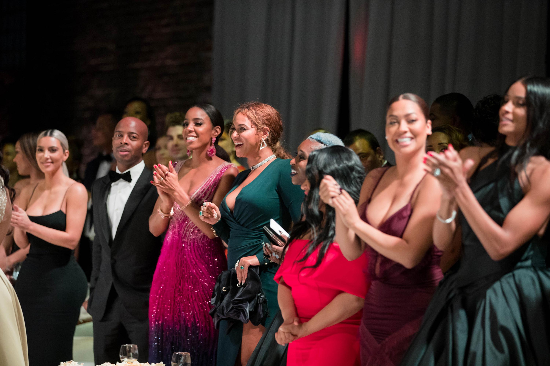 Serena Williams Wedding Guests Beyonce Kim Kardashian