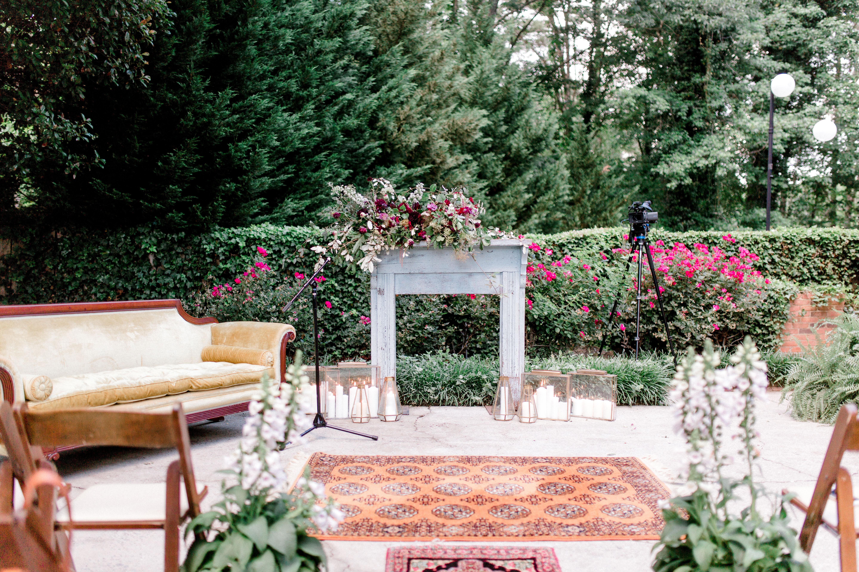 outdoor mantel