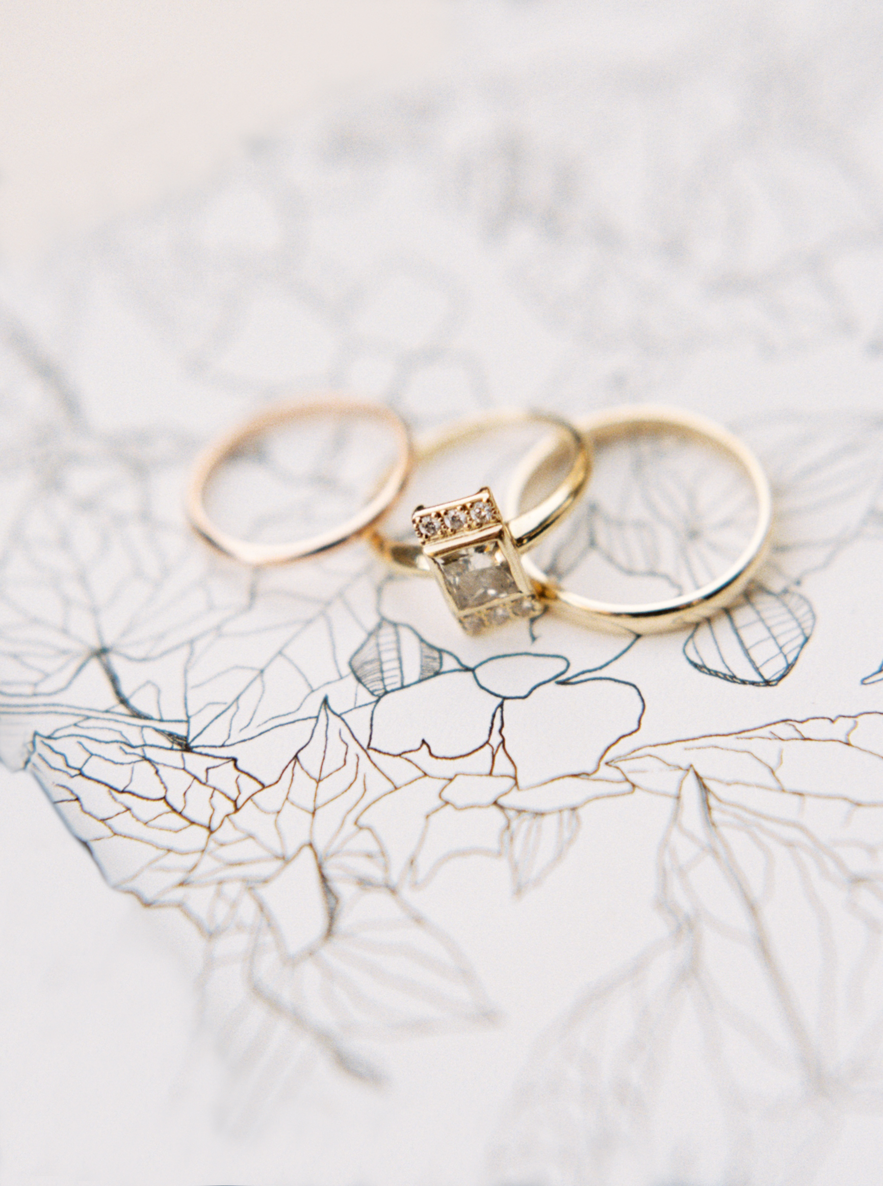 Ally and Bobby wedding rings