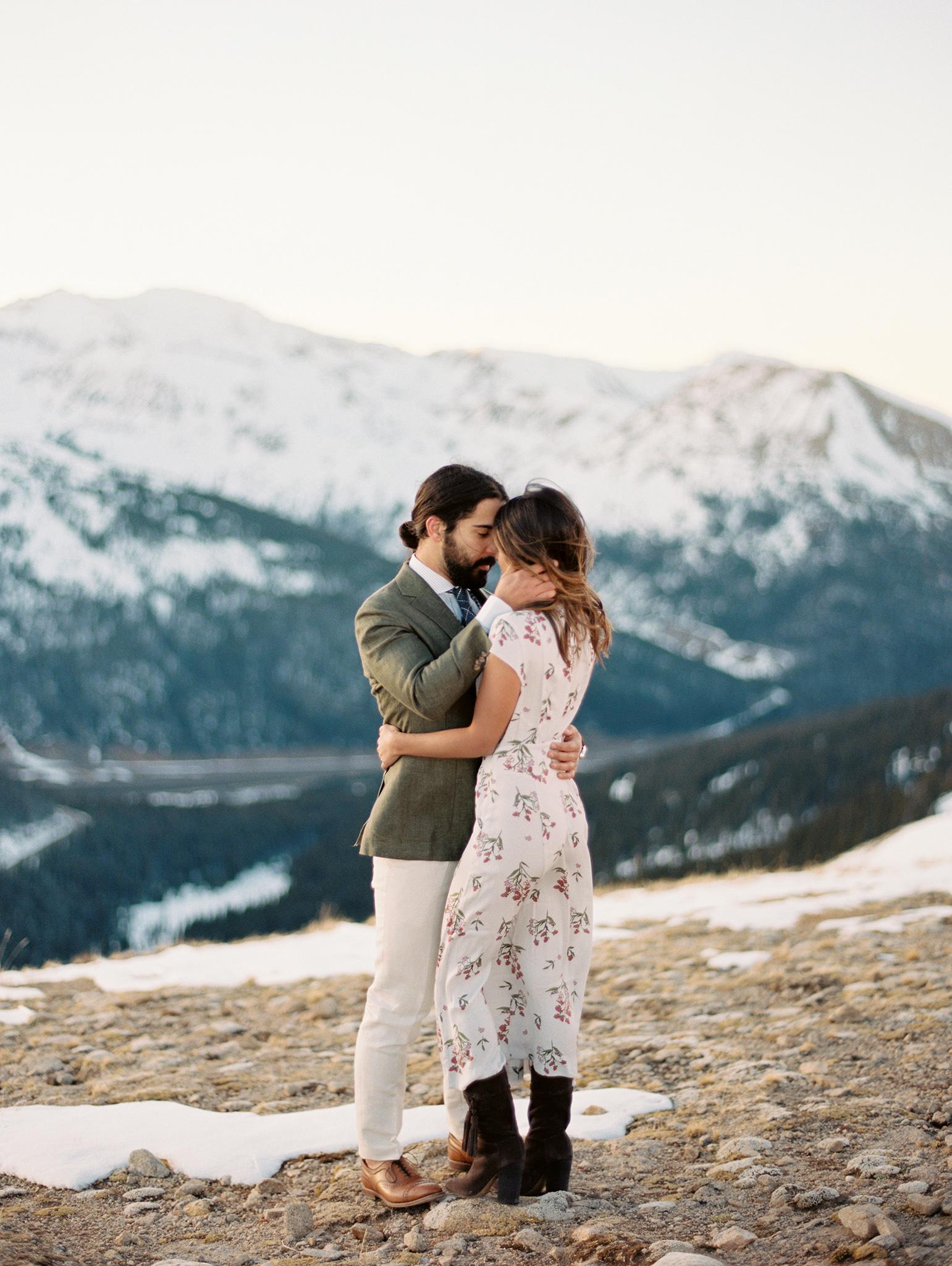 couple winter