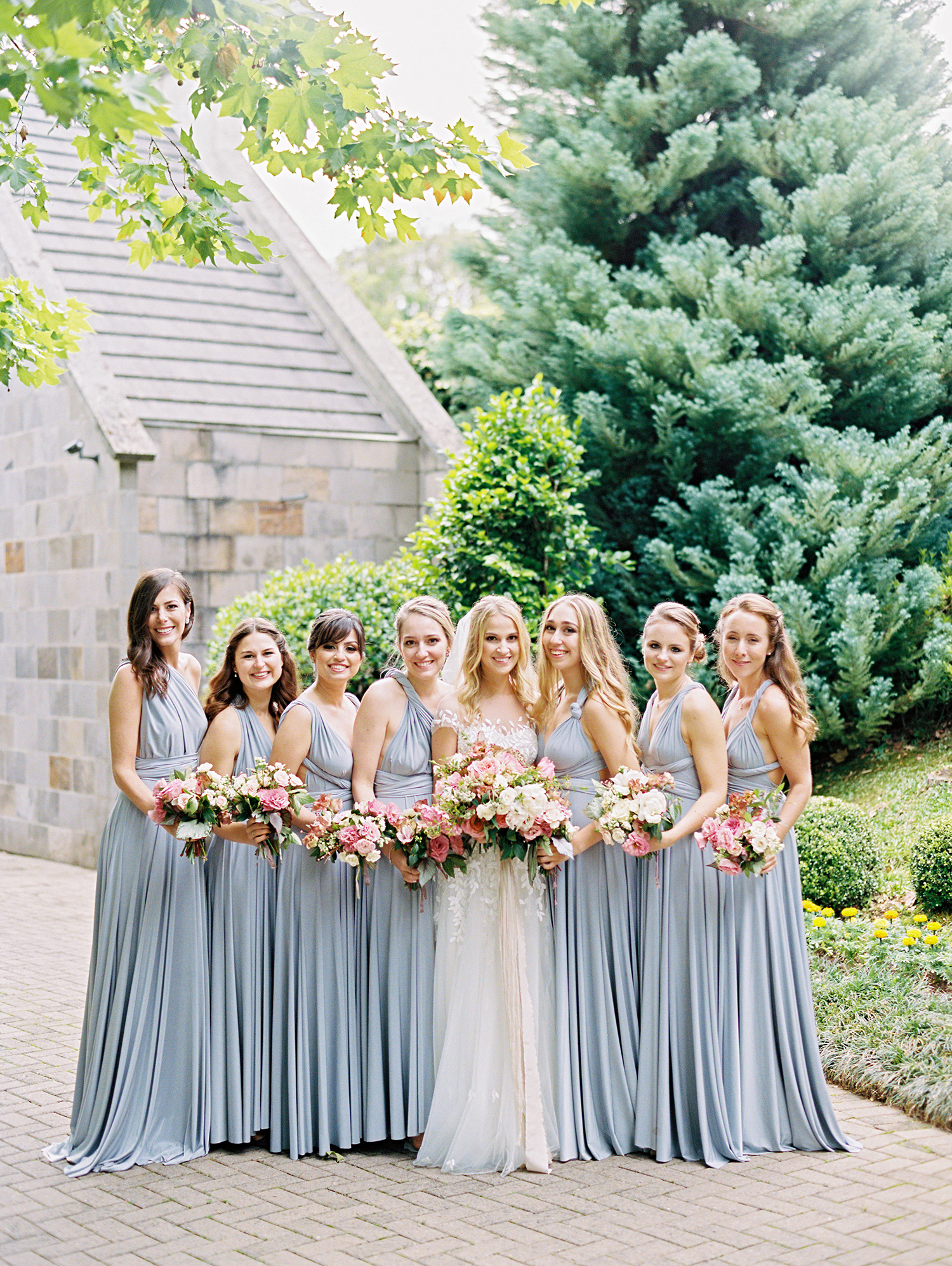 amanda alex wedding bridesmaids