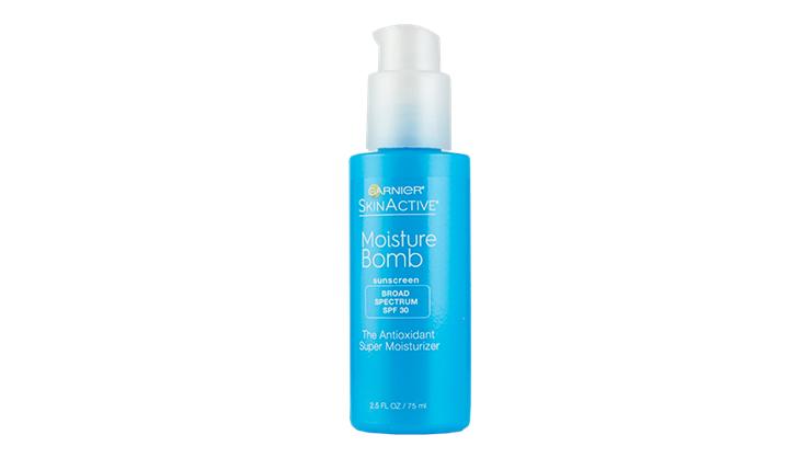 garnier skinactive moisture bomb sunscreen
