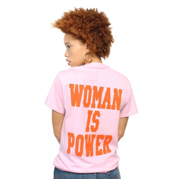 maid of honor gift guide woman is power crewneck