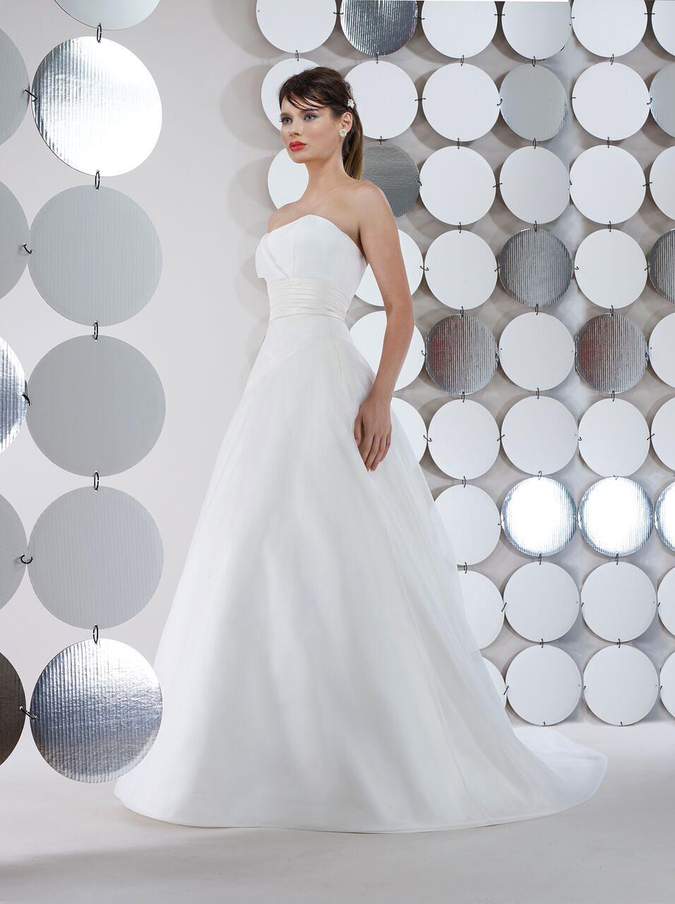 steven birnbaum bridal wedding dress fall 2018 strapless ballgown