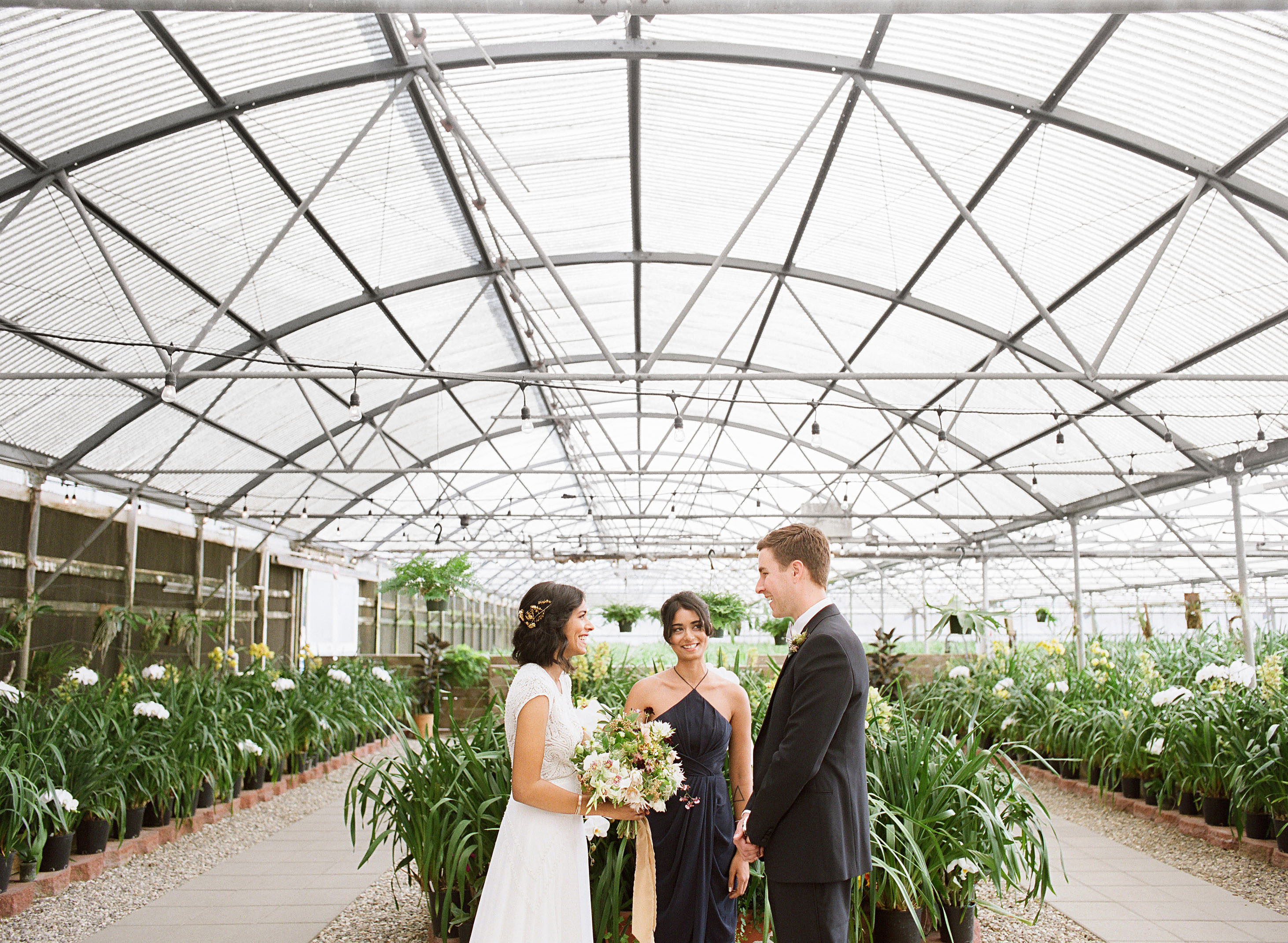 A Greenhouse Ceremony and Ranch Reception in California