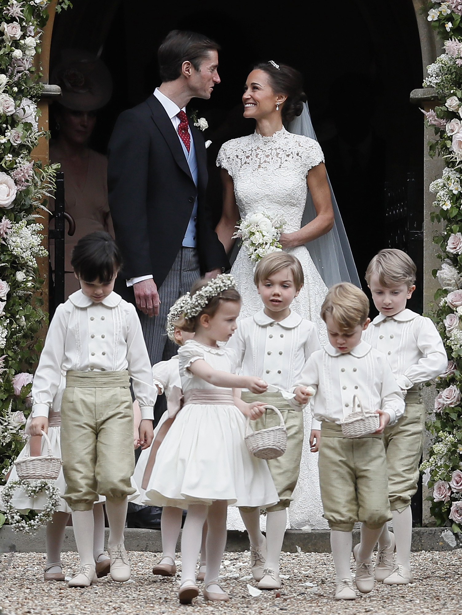 #3 Pippa Middle and James Matthews' Kid Bridal Party