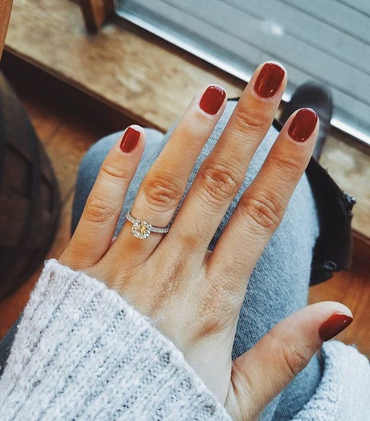 #13 A Red Mani and a Diamond
