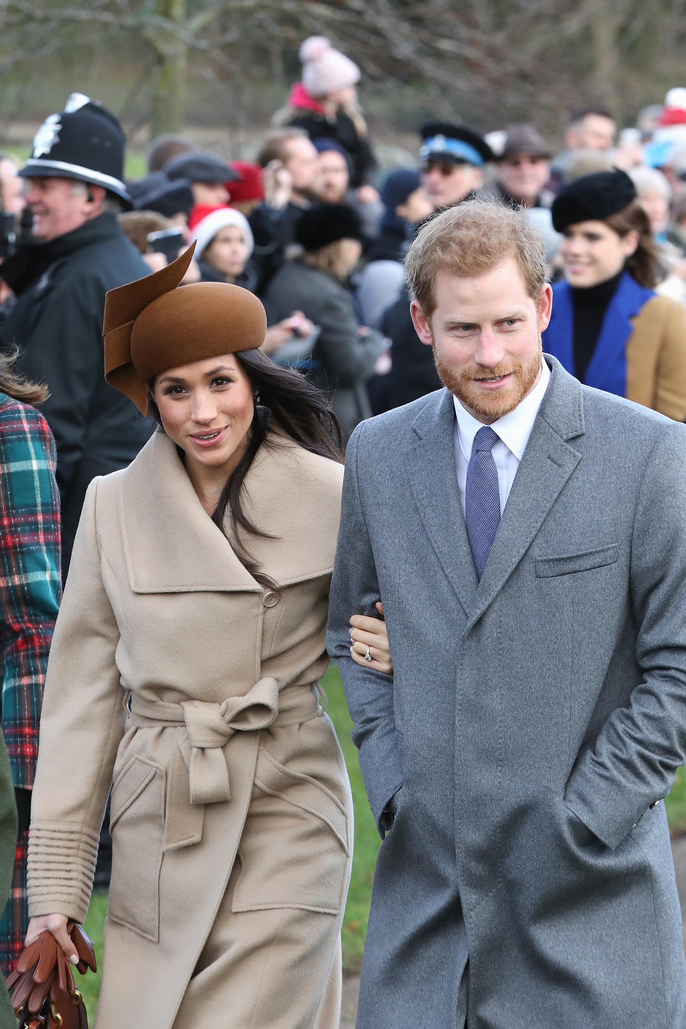 Prince Harry and Meghan Markle Christmas Morning
