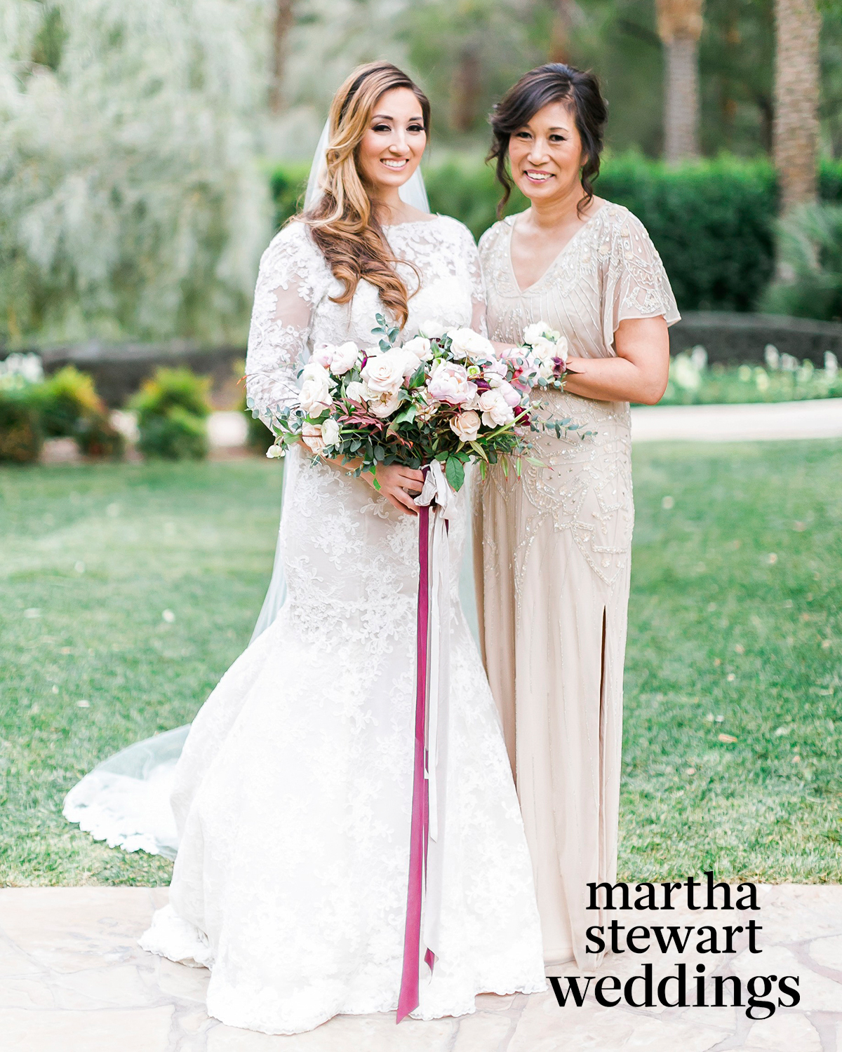 The Prettiest Beige and Gold Dresses for the Mothers of the Bride and Groom