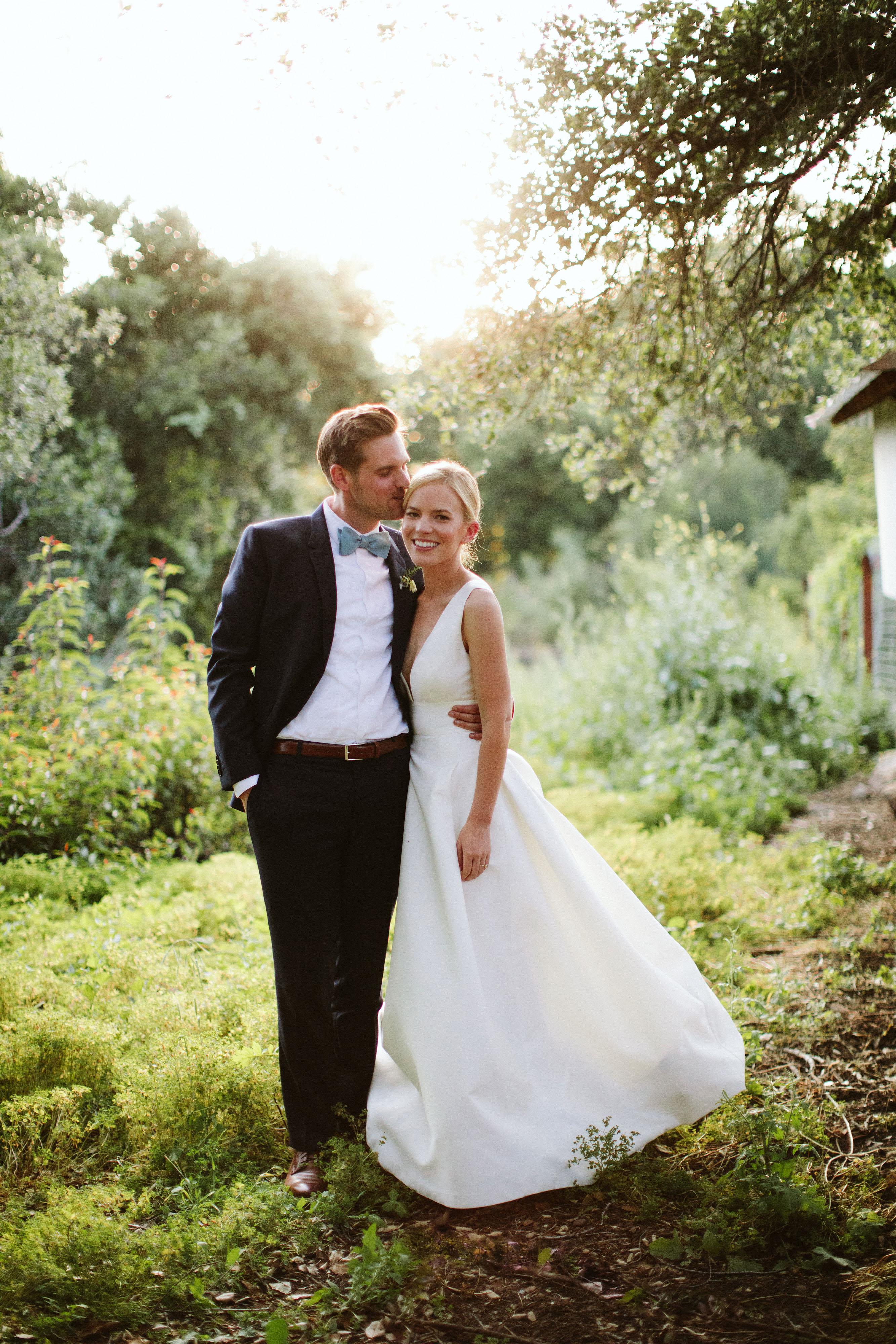 eliza peter wedding couple pose