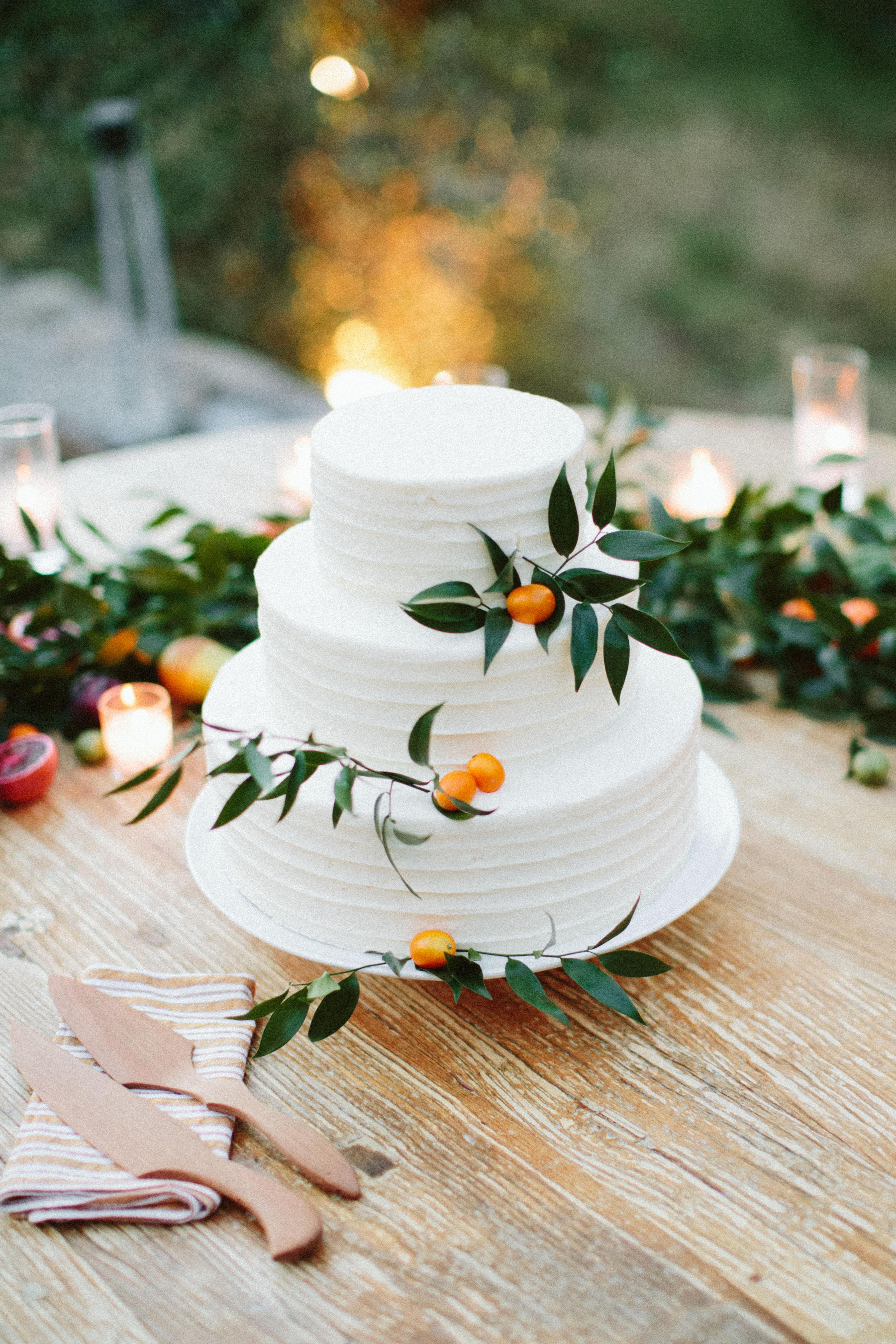 eliza peter wedding cake
