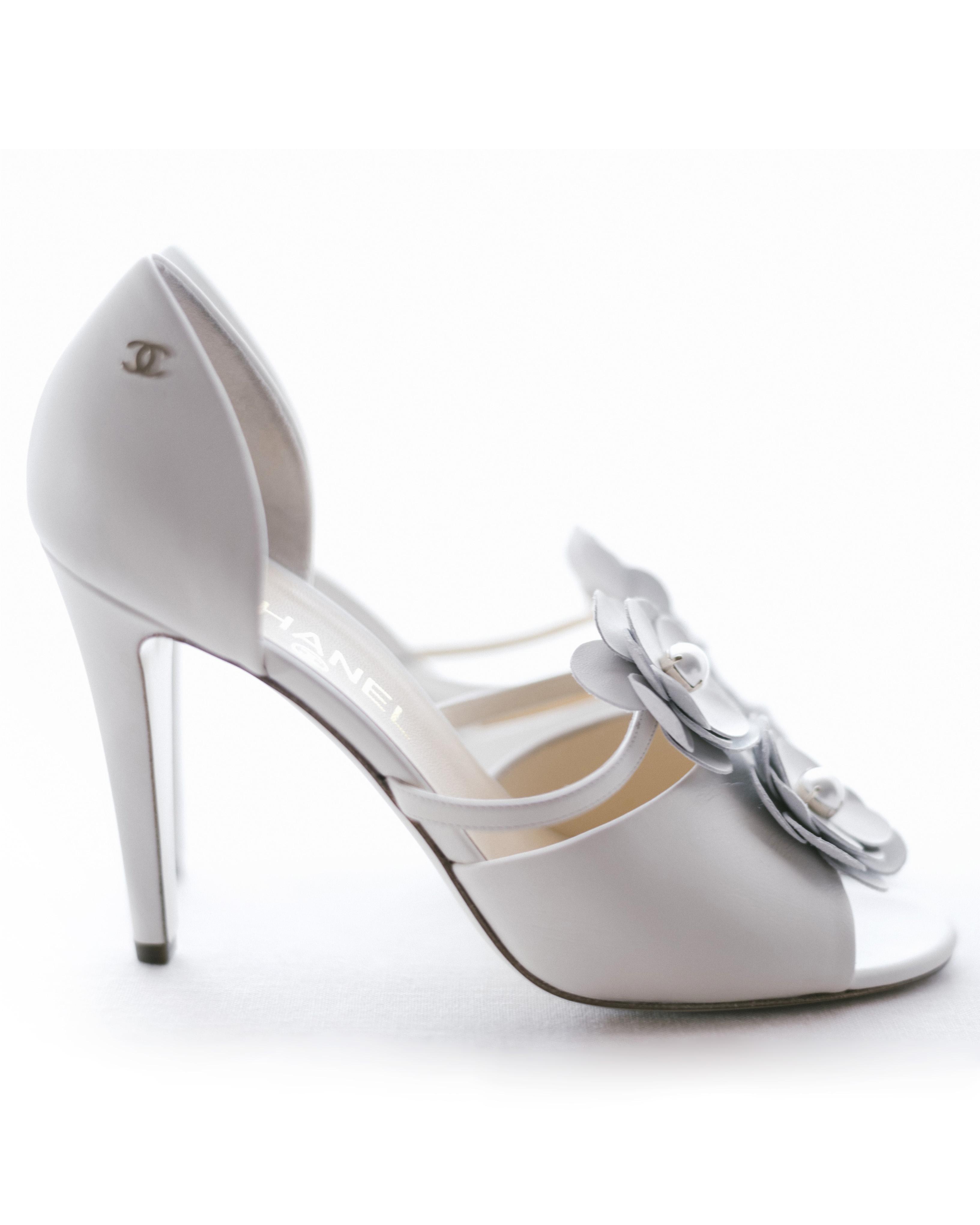 cassandra ben wedding california chanel shoes