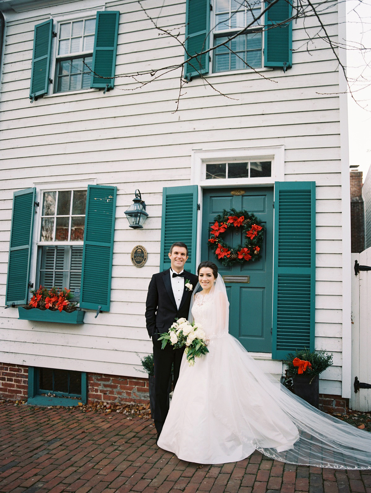 celina rob wedding virginia couple house