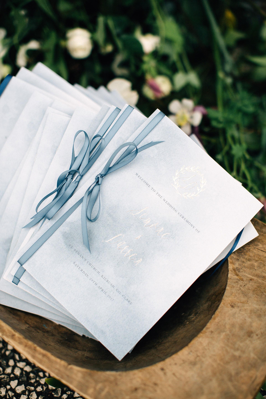 simone darren wedding ireland programs