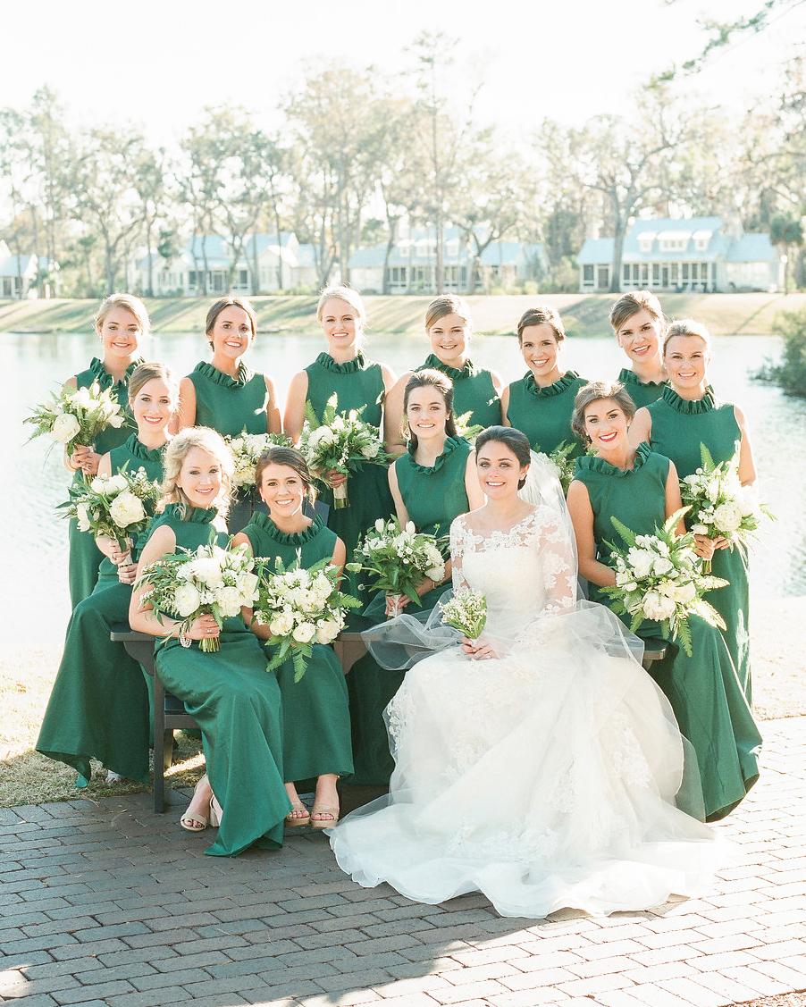 shelby barrett wedding bridesmaids