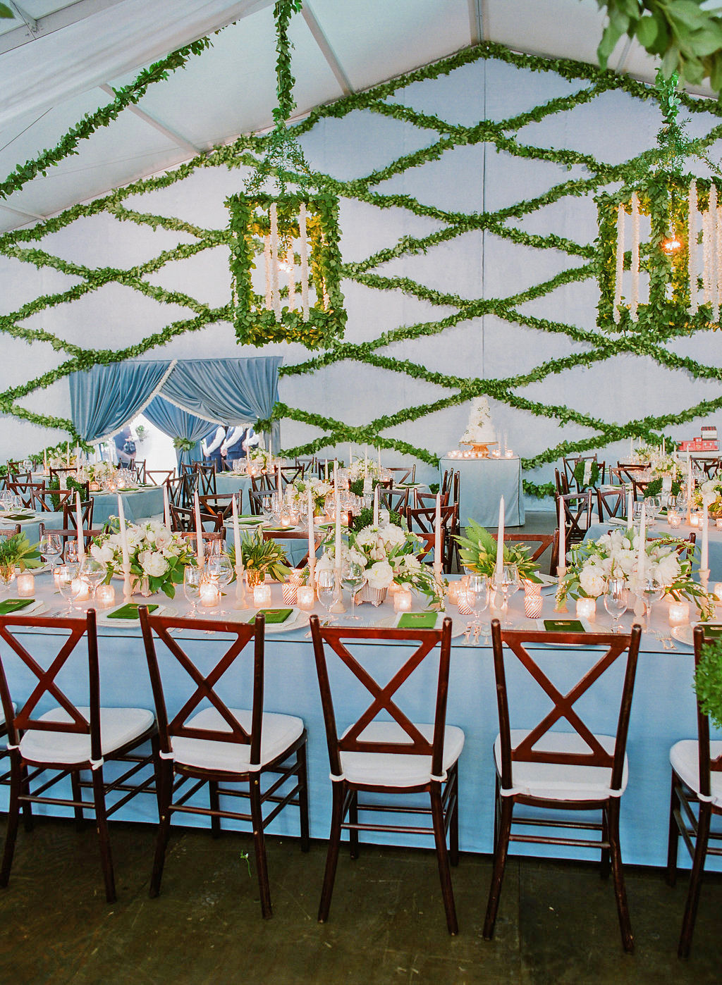 The Reception Tent