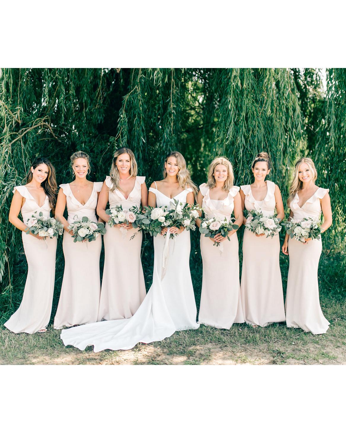 maggie zach wedding bridesmaids