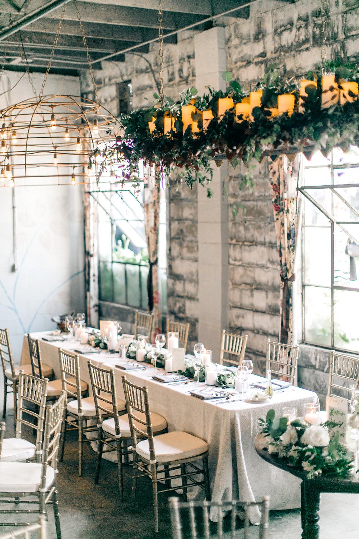 maggie zach wedding banquet table