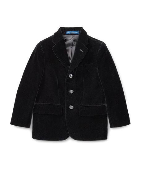black suit jacket ring bearer